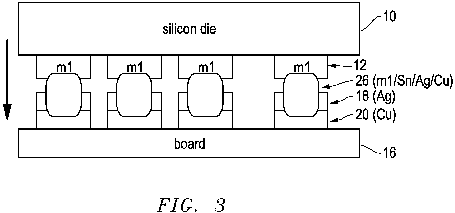 Ep3121843a3 Flip Chip Bonding A Die In Particular Sequential Silicon Circuit Board Figure Imgaf002