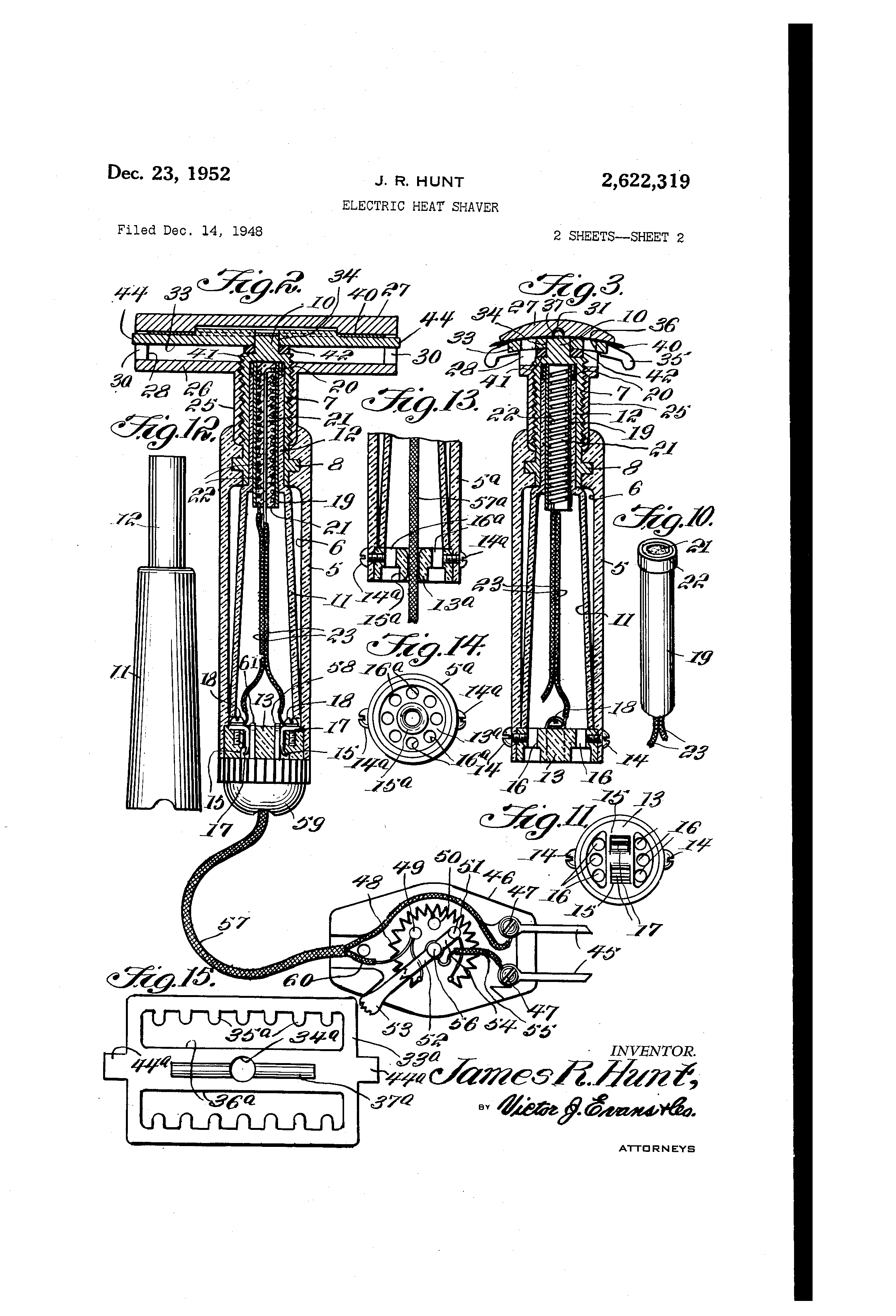 [Image: US2622319-drawings-page-2.png]