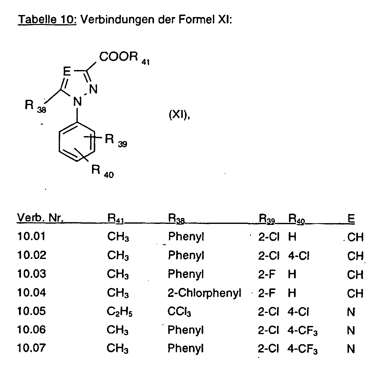 EP1210333B1 - p-Tolyl-heterocycles as herbicides - Google Patents