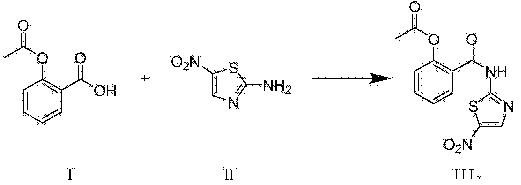 Image result for nitazoxanide SYNTHESIS