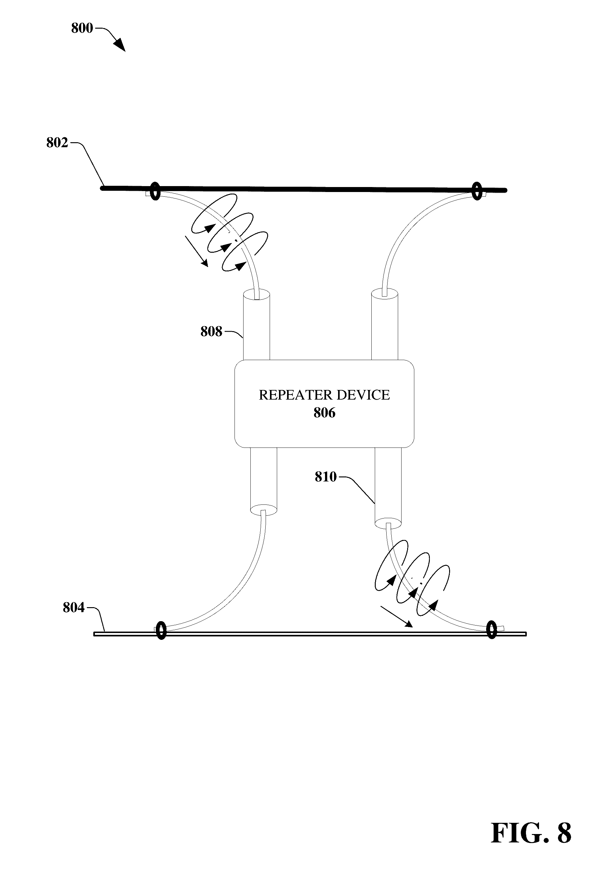 Us9531427b2 Transmission Device With Mode Division Multiplexing 1959 Practical Monolithic Integrated Circuit Concept Patented The And Methods For Use Therewith Google Patents