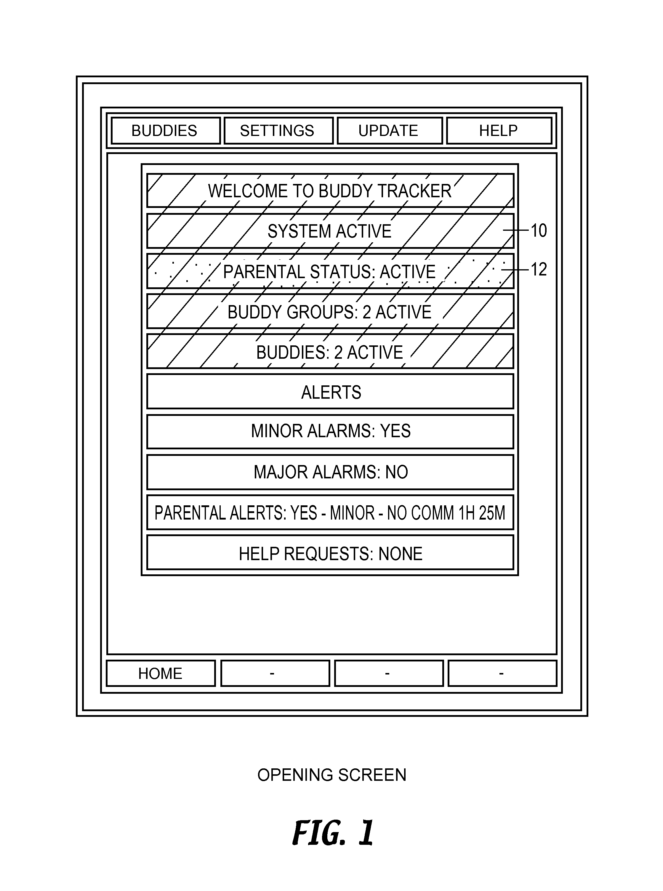 us8798593b2 - location sharing and tracking using mobile phones or