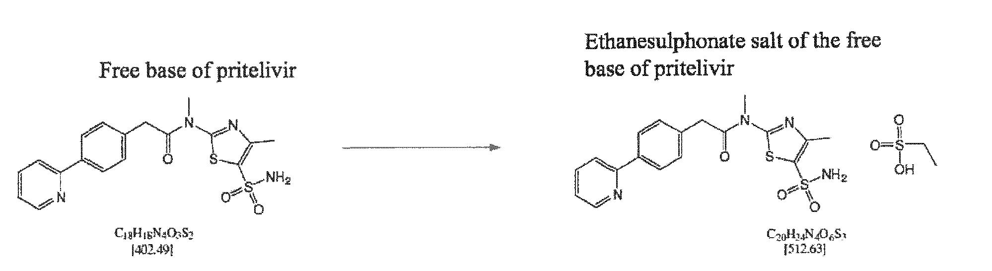 WO2018096177A1 - A maleate salt of the free base of n-[5
