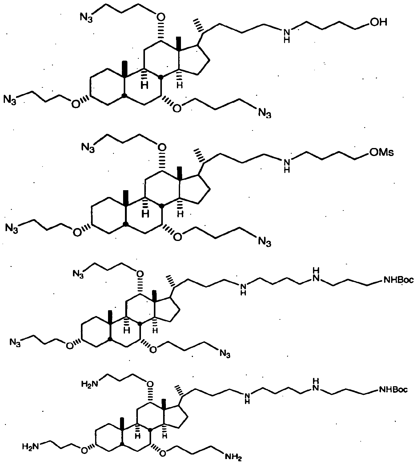 WO2007089906A2 - Cationic steroid antimicrobial compositions for