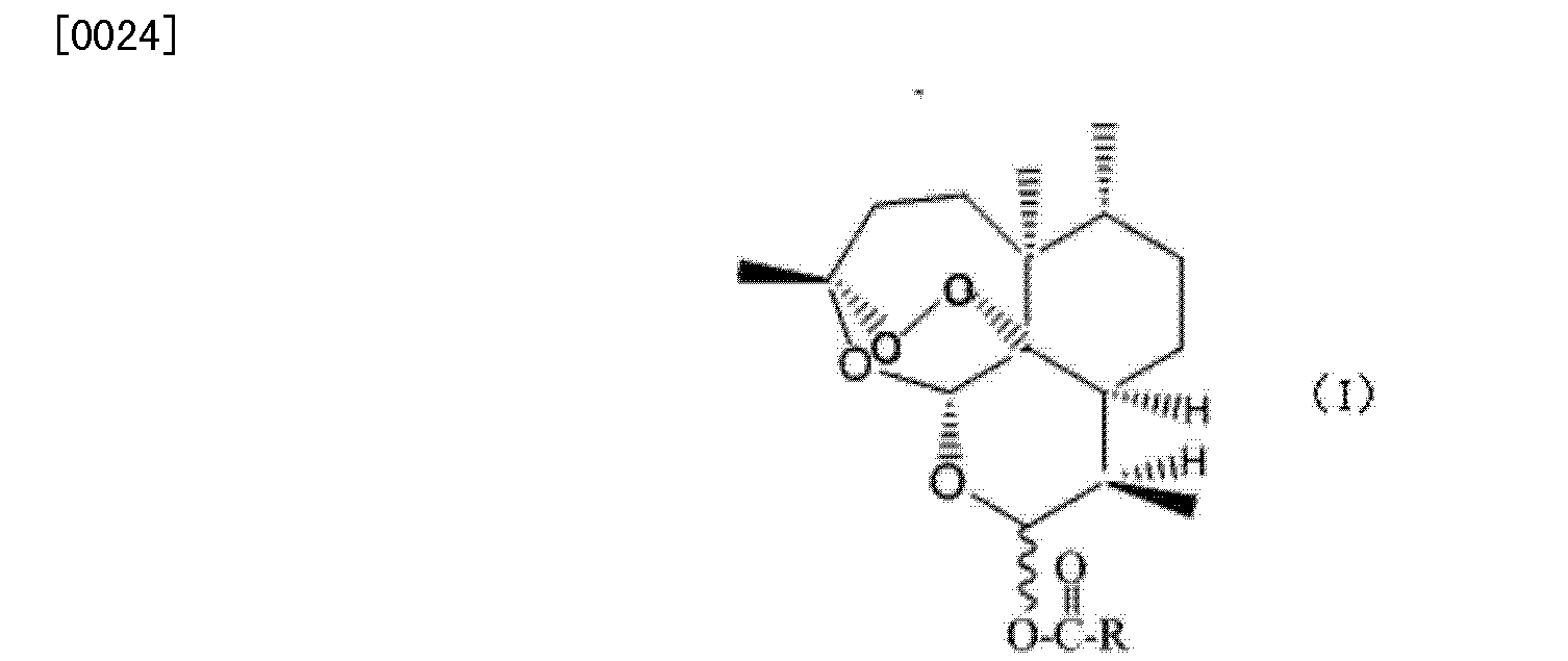 CN103497200A - Dihydroartemisinin higher fatty acid ester and