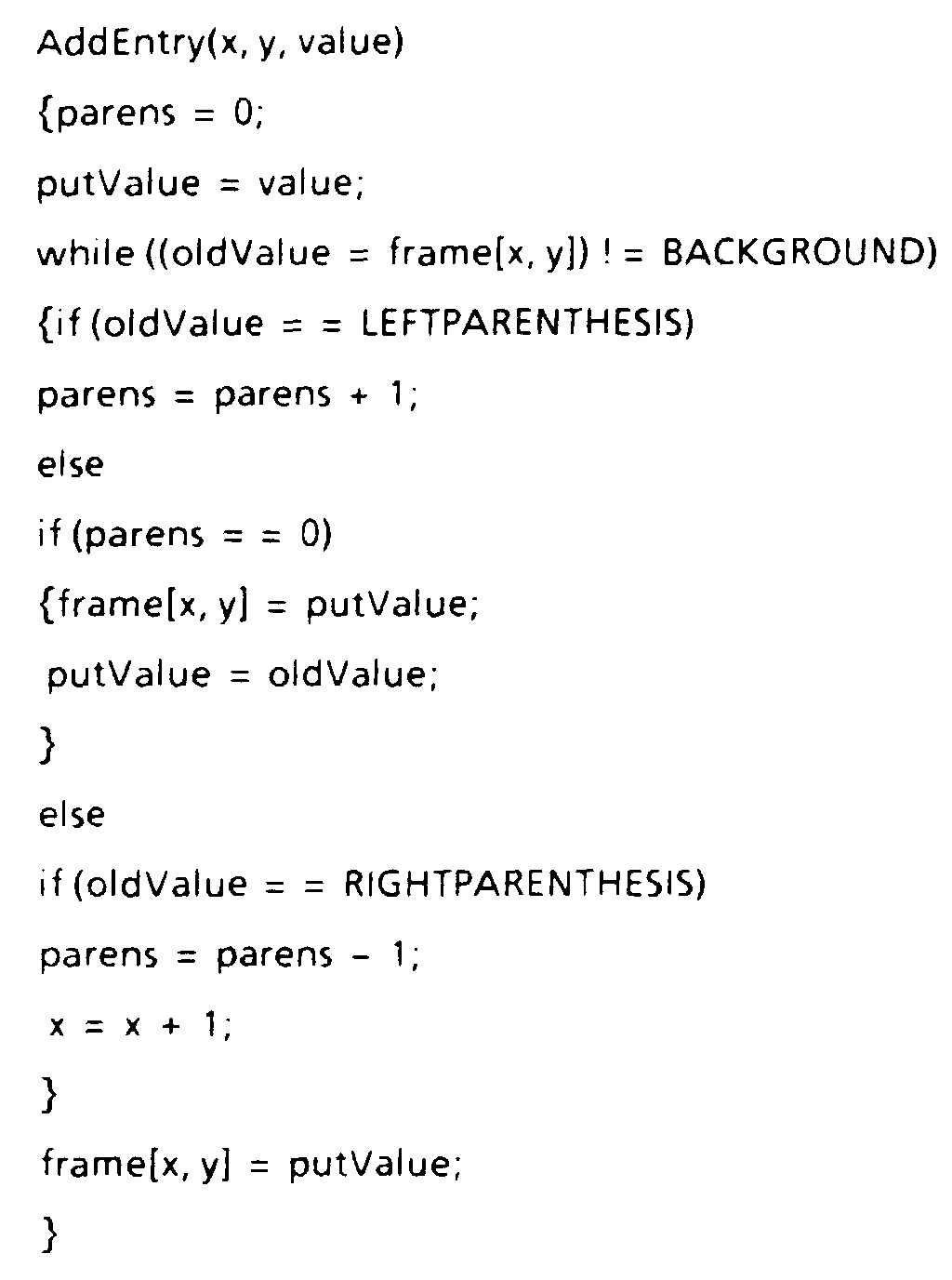 EP0402161B1 - Representation of polygons defined by non-zero