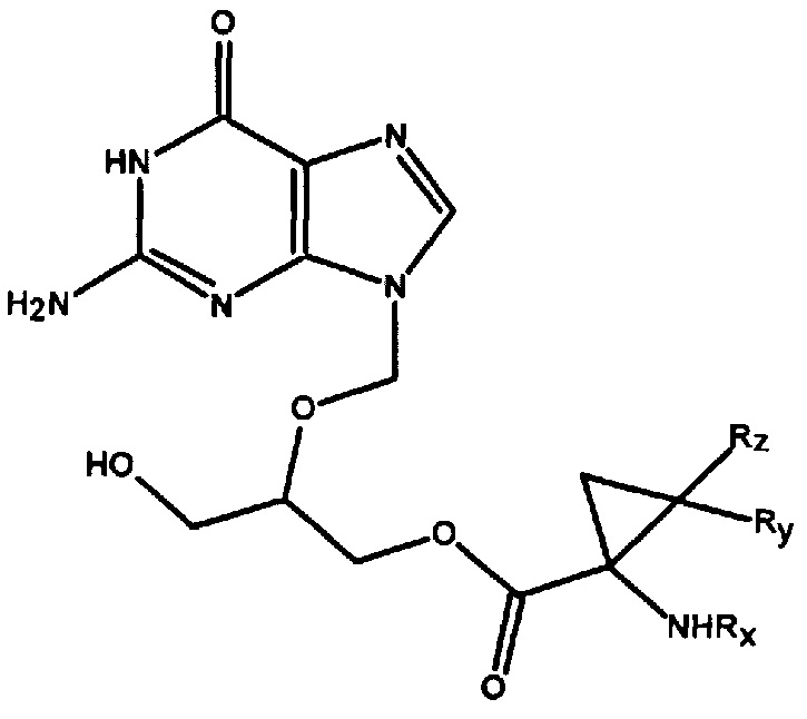 RU2642463C2 - Cyclopropane carboxylate ethers of purine analogues ...
