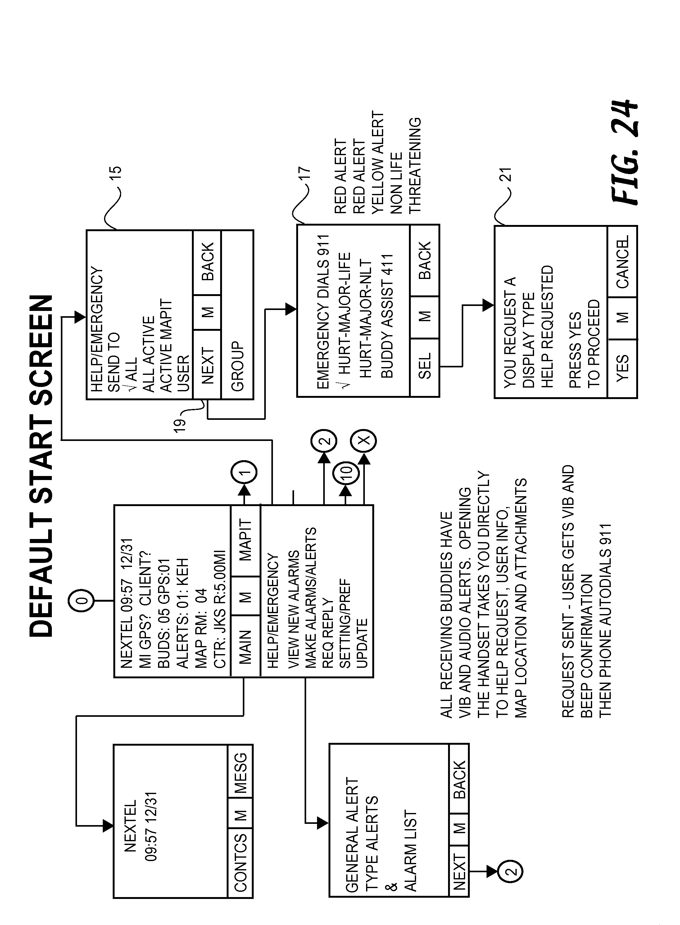 us8538458b2 location sharing and tracking using mobile phones or rh patents google com