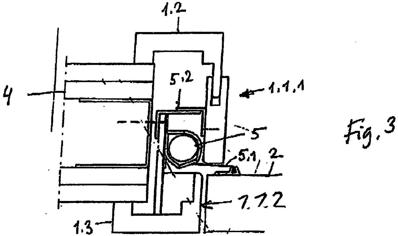 EP3144462A1 - Tür mit einem fingerschutzsystem - Google Patents