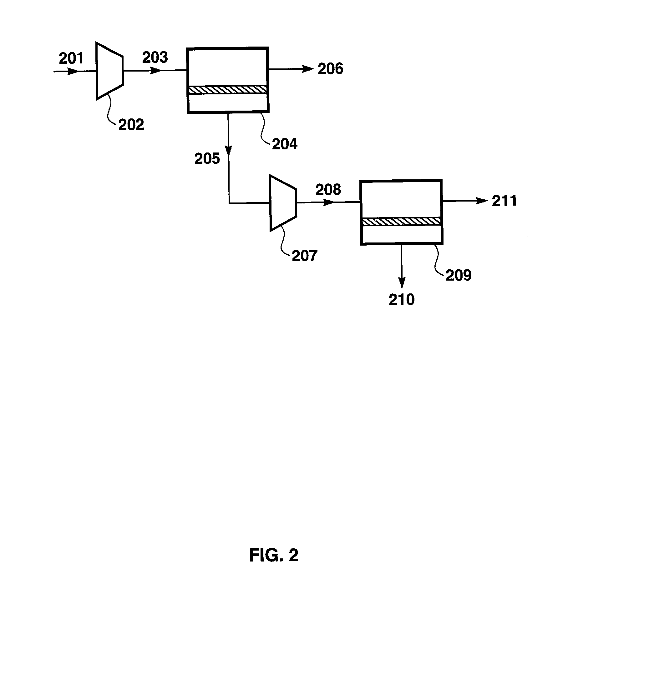 US20020152889A1 - Gas separation using organic-vapor-resistant ... on