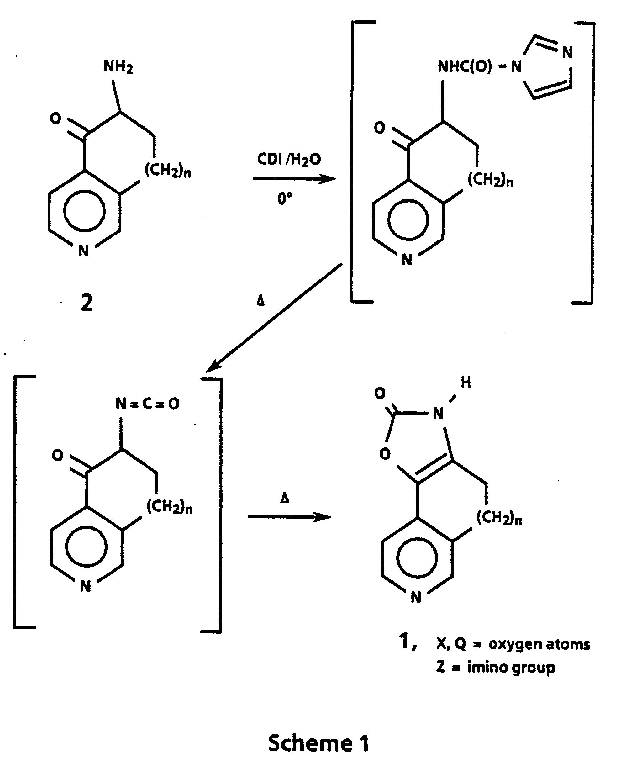 Ep0293777a1 Cardiotonic Tricyclic Oxazolones Google Patents Oxygen Atom Model Atomic Diagram Figure Imgb0002