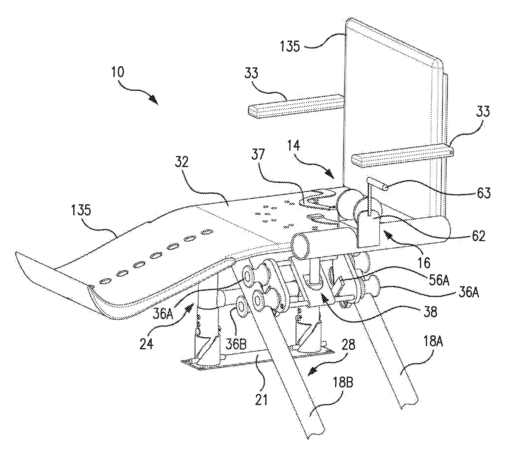 Assistance Device For Entering And Exiting A Swimming Pool Figure 1