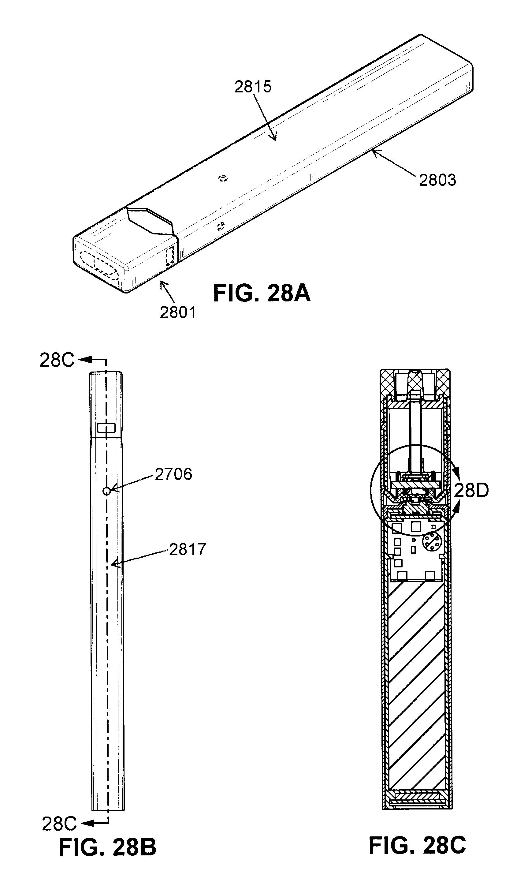 Us10058130b2 Cartridge For Use With A Vaporizer Device Google Esquire Wiring Diagram Single Pu Patents