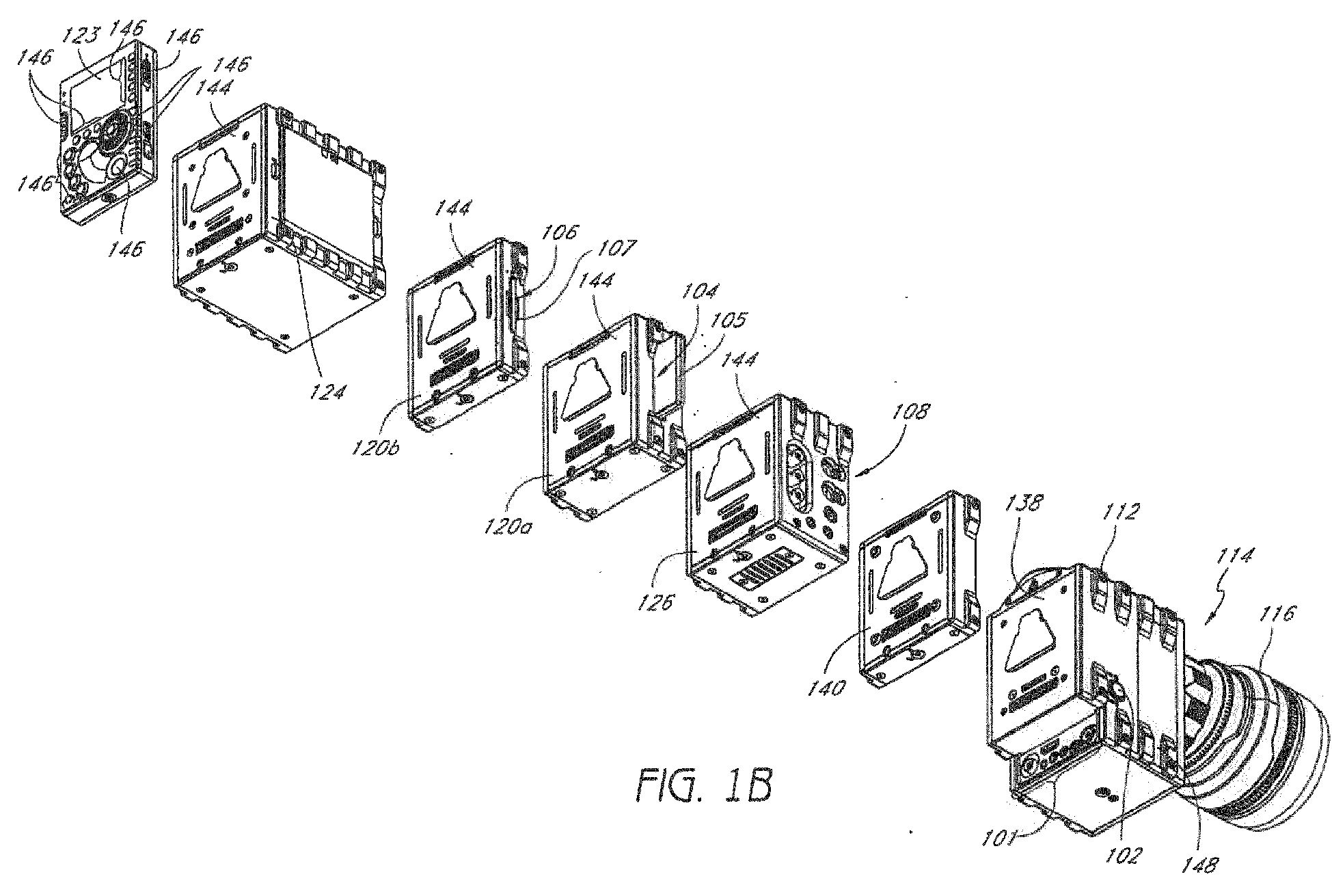 EP2645164A1 - Modular digital camera - Google Patents