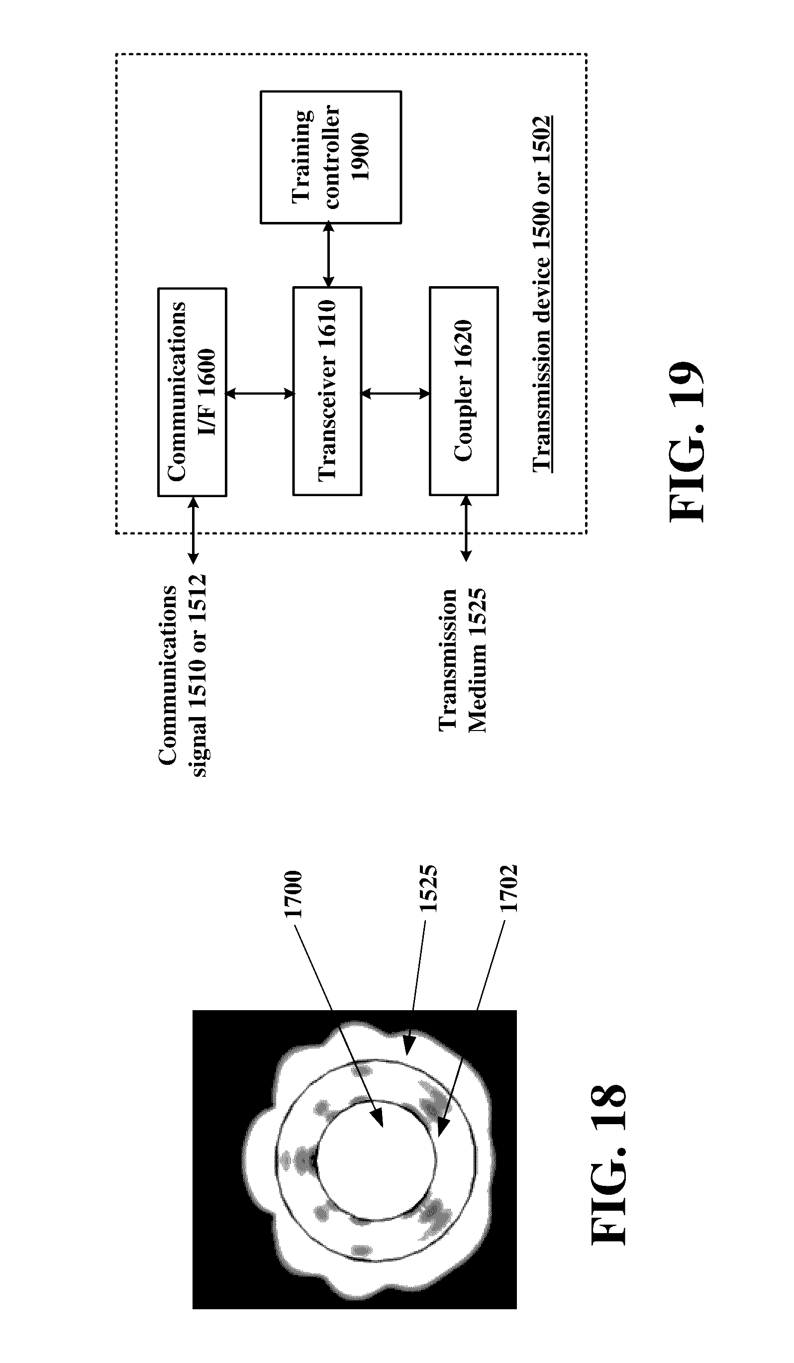 us9531427b2 transmission device with mode division multiplexing rh patents google com