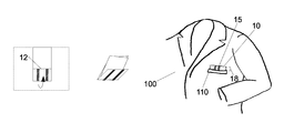 US9051681B1 - Method of folding and wearing a pocket square