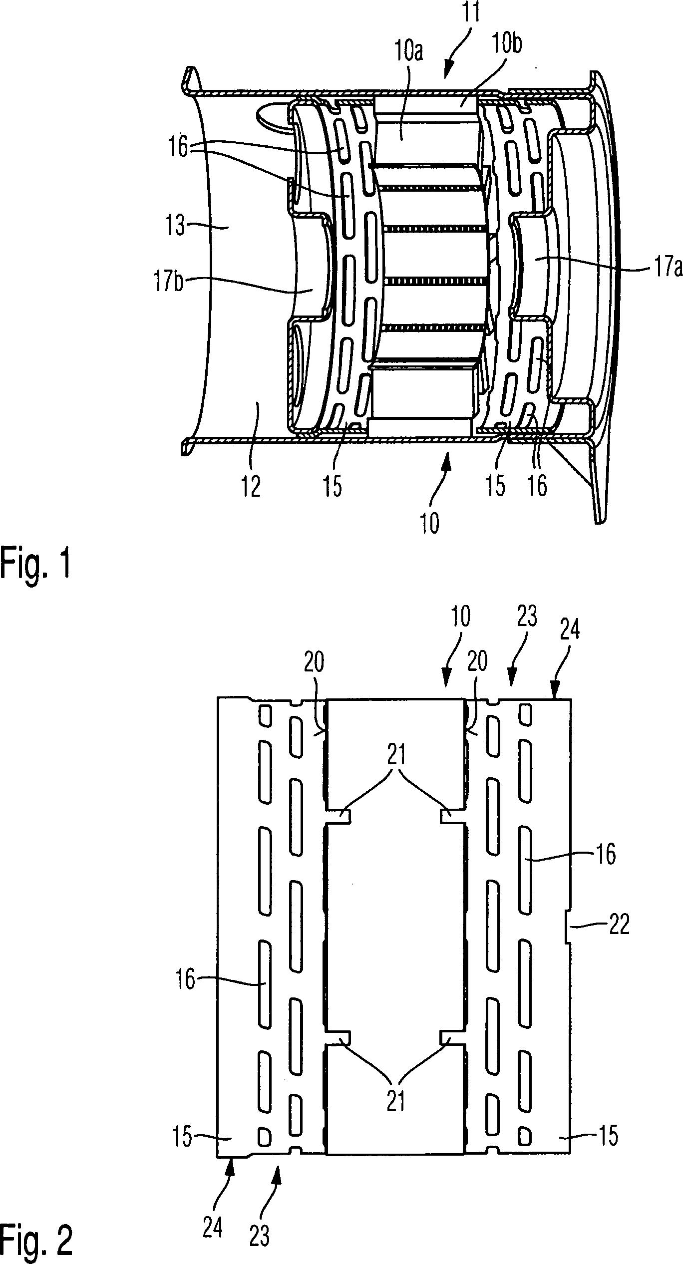Patent DE102009027872A1 - Anordnung zur akustischen Entkopplung ...