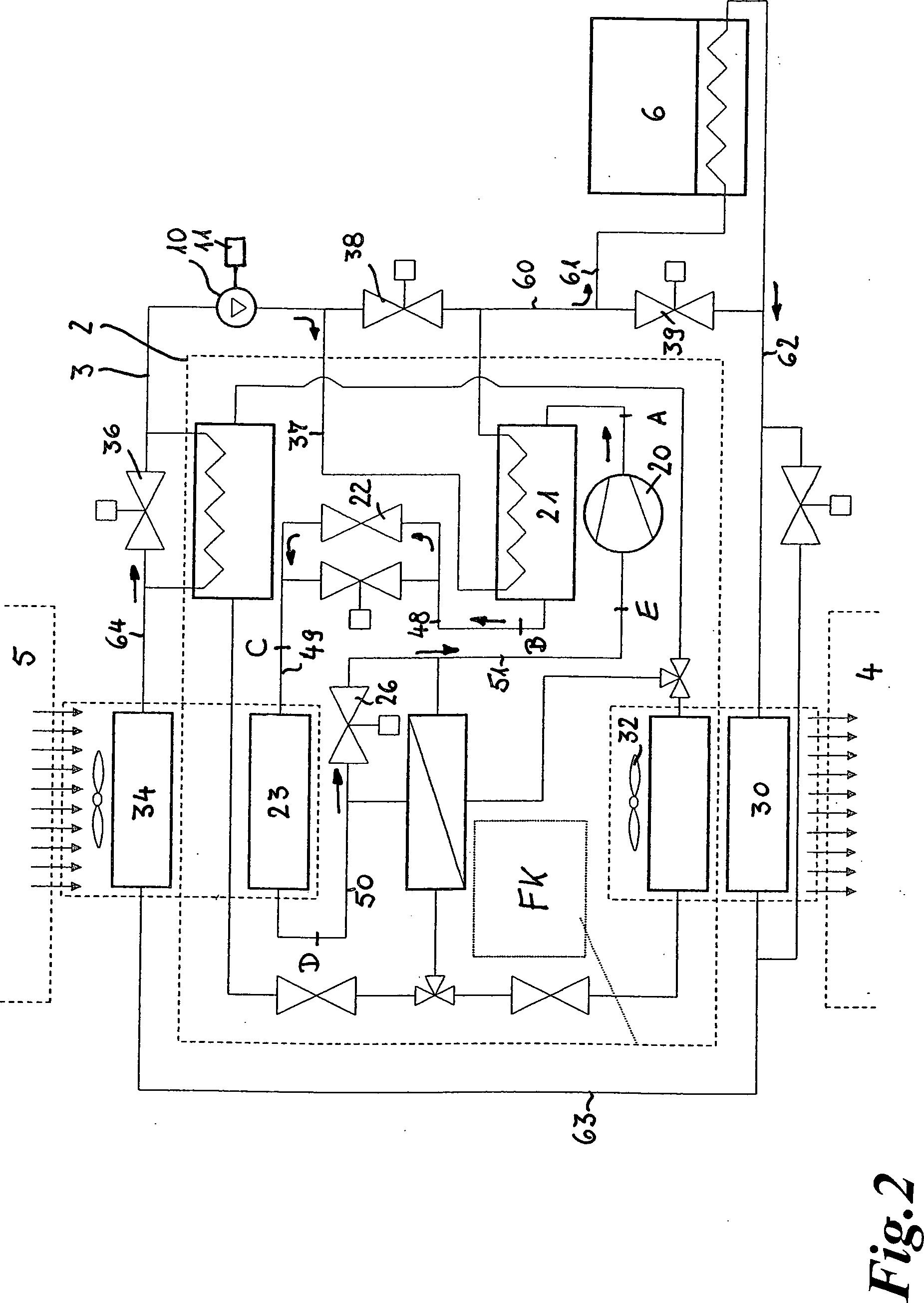 Patent DE102009060860A1 - Klimatisierungssystem für ein Fahrzeug ...