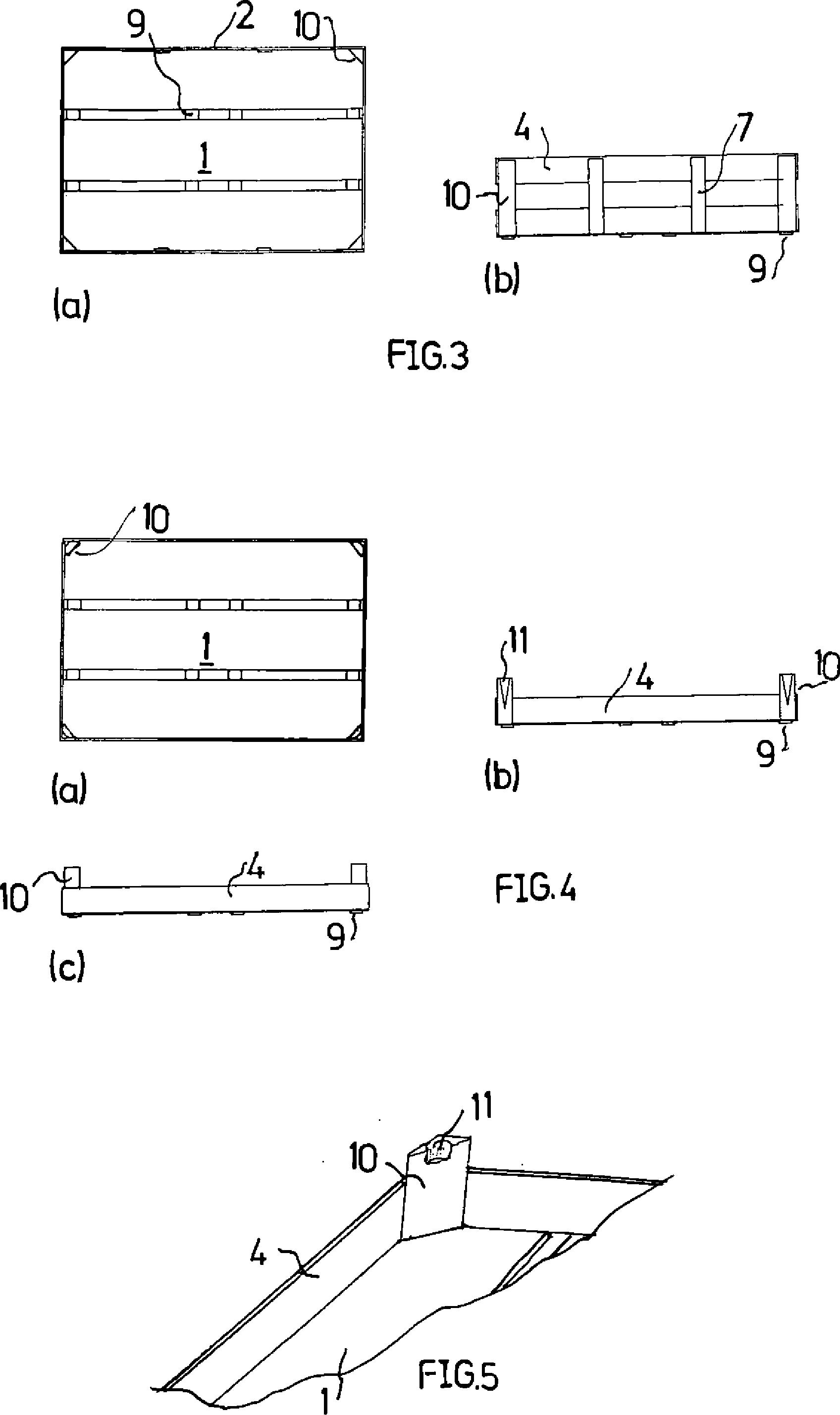 Patent DE102012104020A1 - Behältersystem zum Transport oder/und zur ...