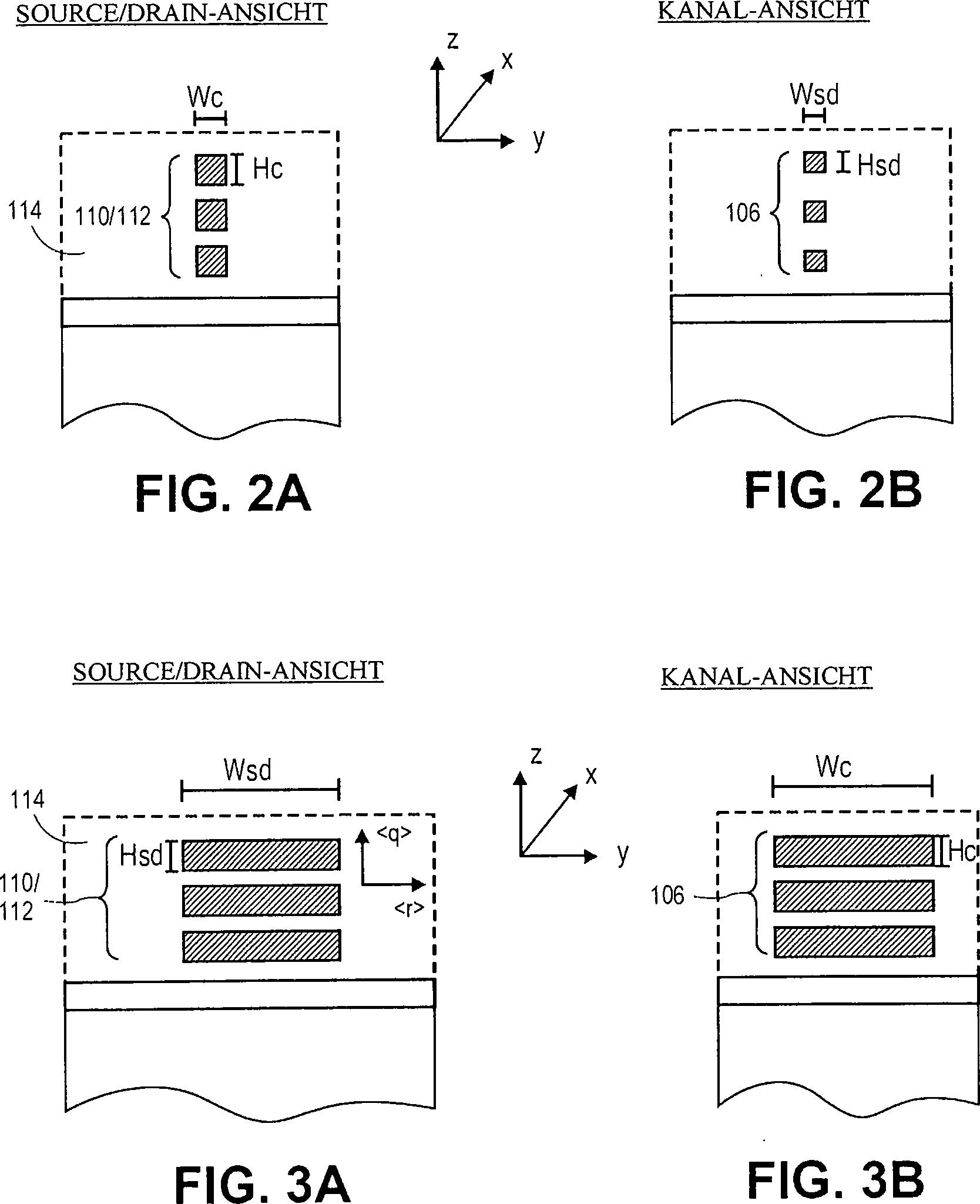 Patent DE112011106006T5 - Nanodrahtstrukturen mit Rundumkontakten ...