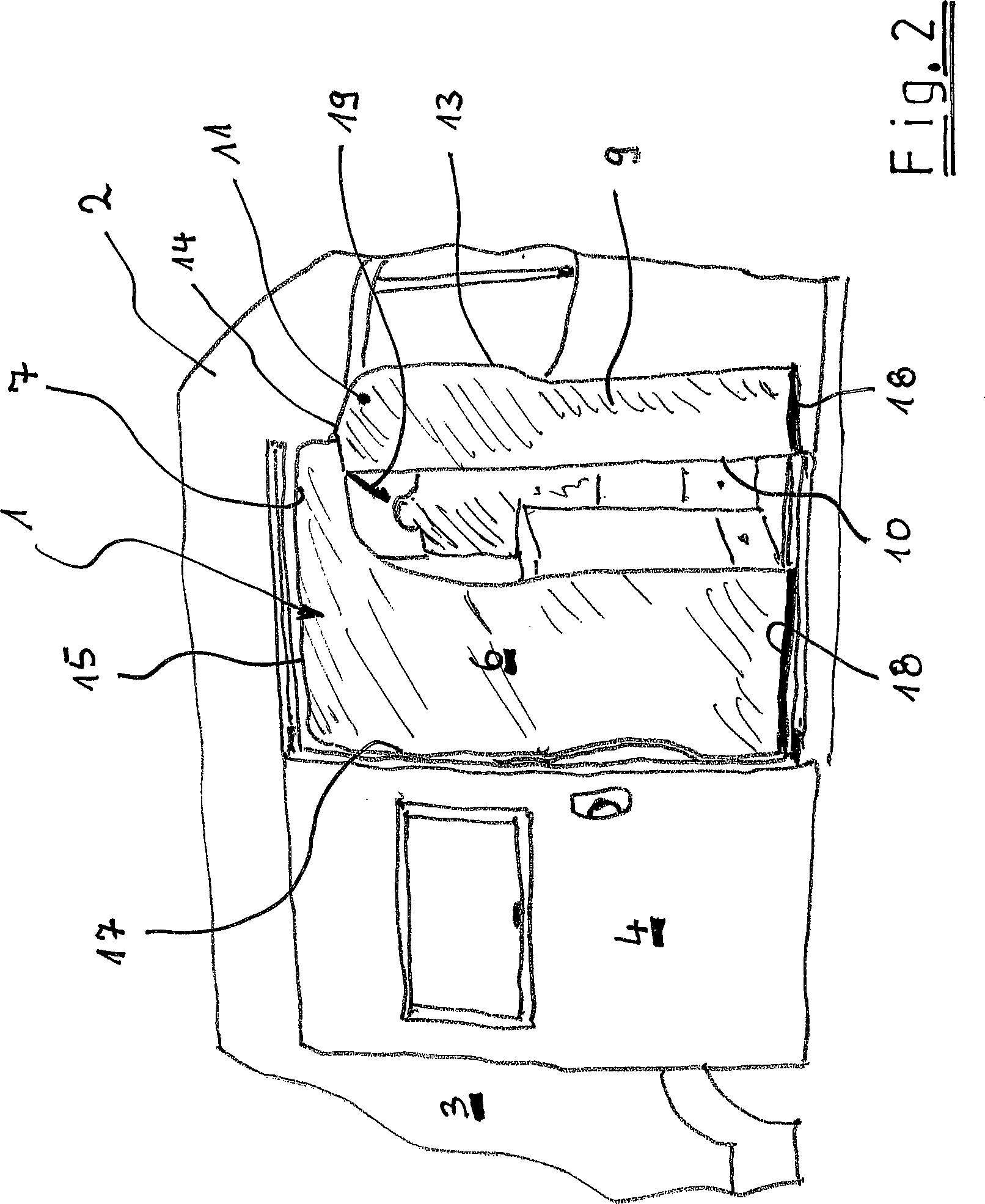patent de202012102271u1 insektenschutz f r ein wohnmobil insbesondere f r einen als. Black Bedroom Furniture Sets. Home Design Ideas