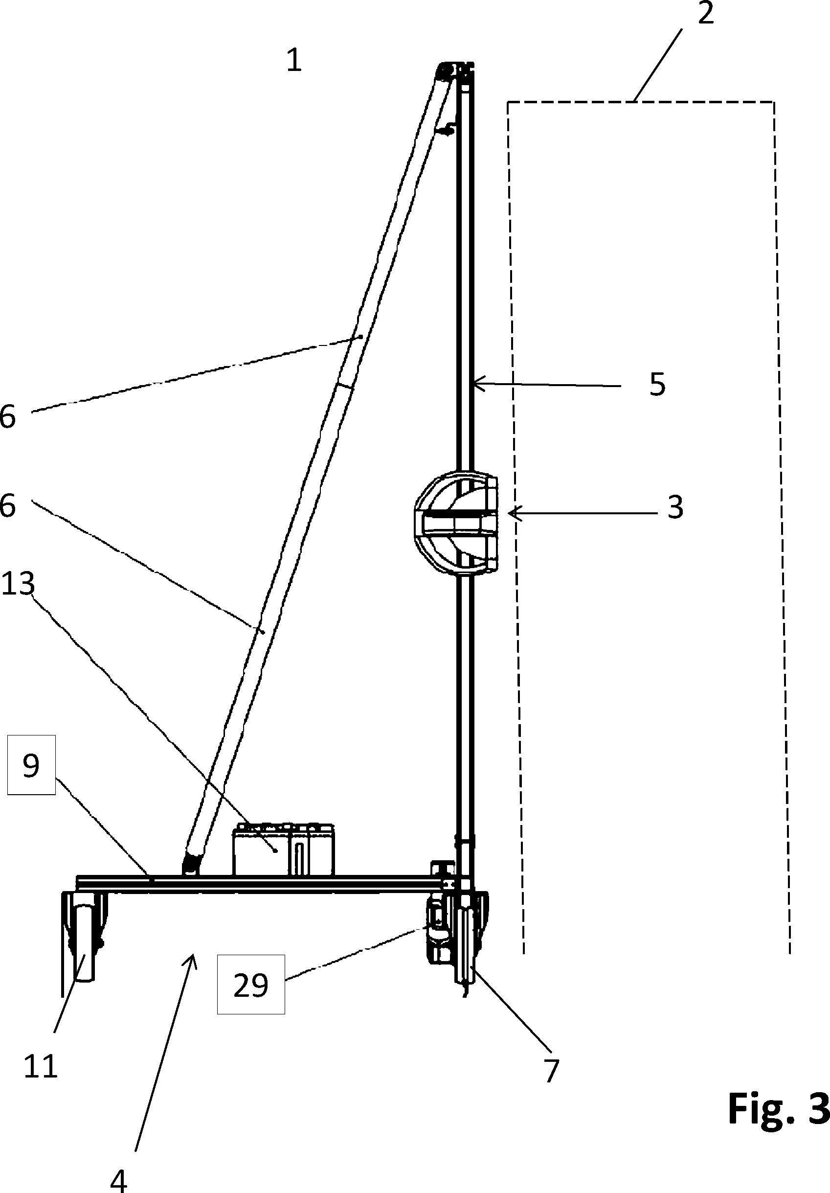 patent de202013104163u1 vorrichtung zum schneiden von hecken apparatus for trimming hedges. Black Bedroom Furniture Sets. Home Design Ideas