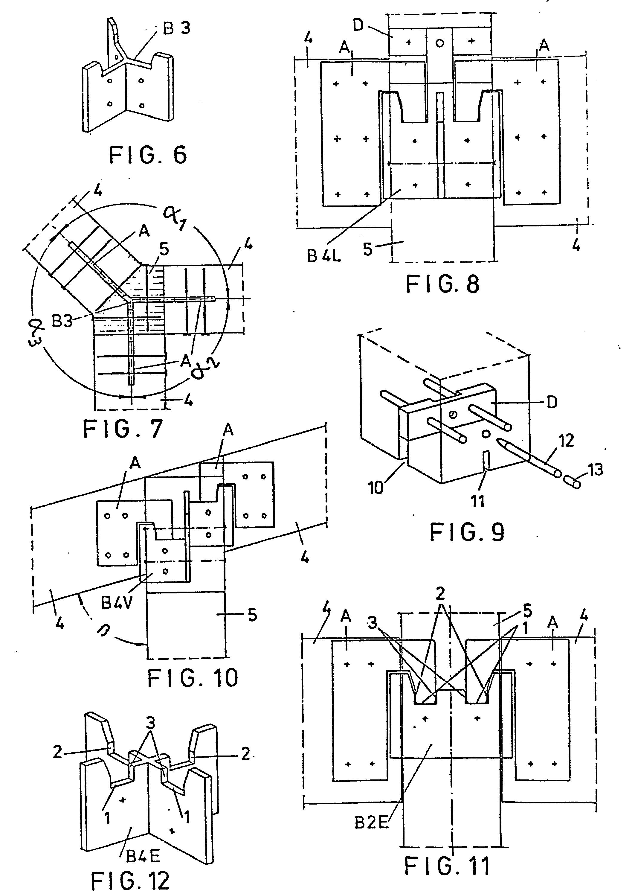Patent EP0008713B1 - Verbindung für zusammenfügbare ...