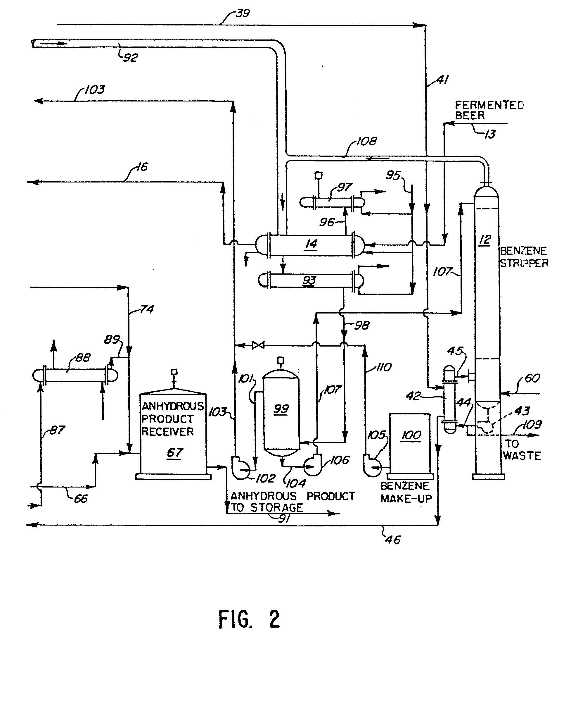 patent ep0011147b1 destillationsverfahren und vorrichtung zur herstellung von wasserfreiem. Black Bedroom Furniture Sets. Home Design Ideas