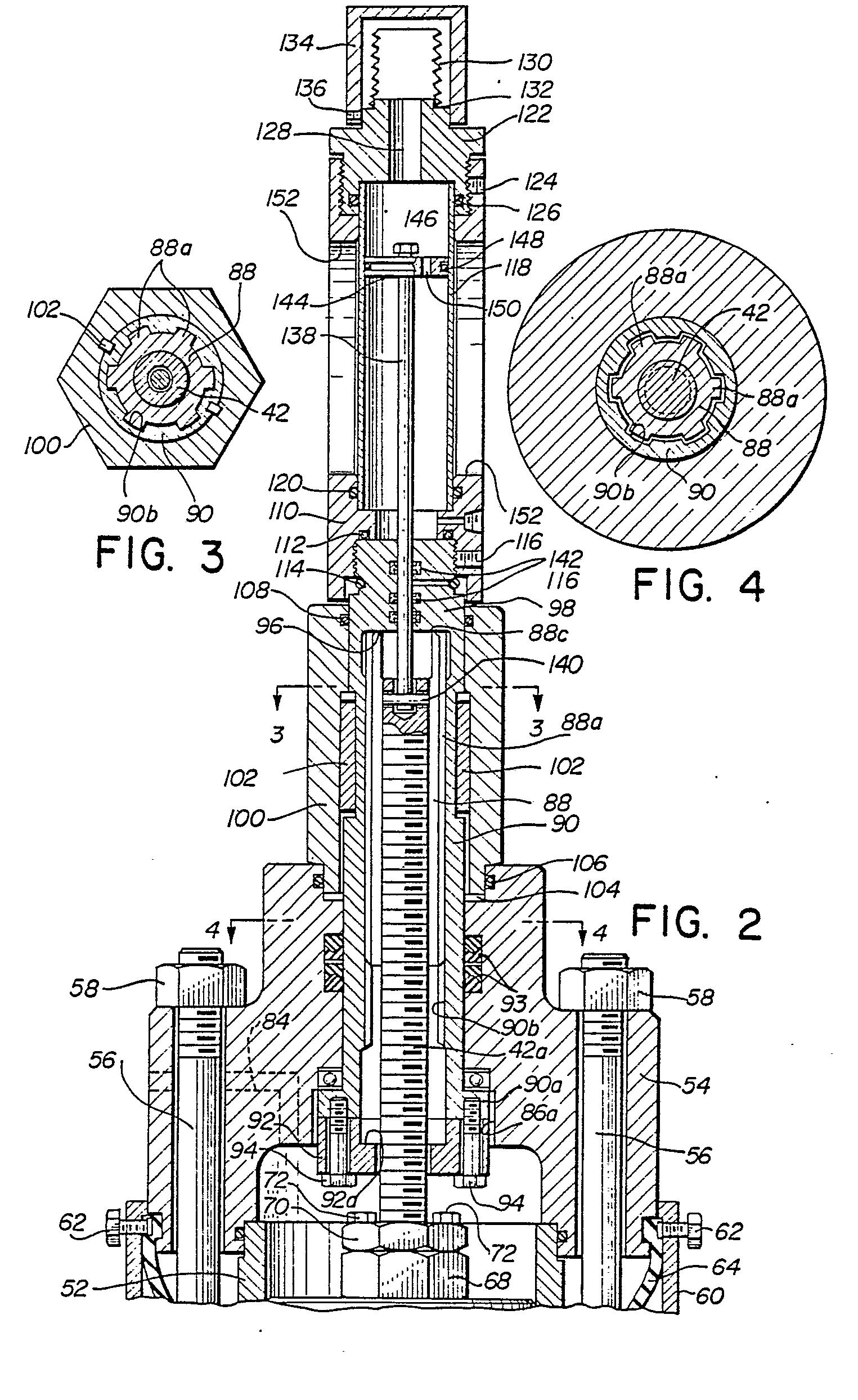 Check valve Manual Override
