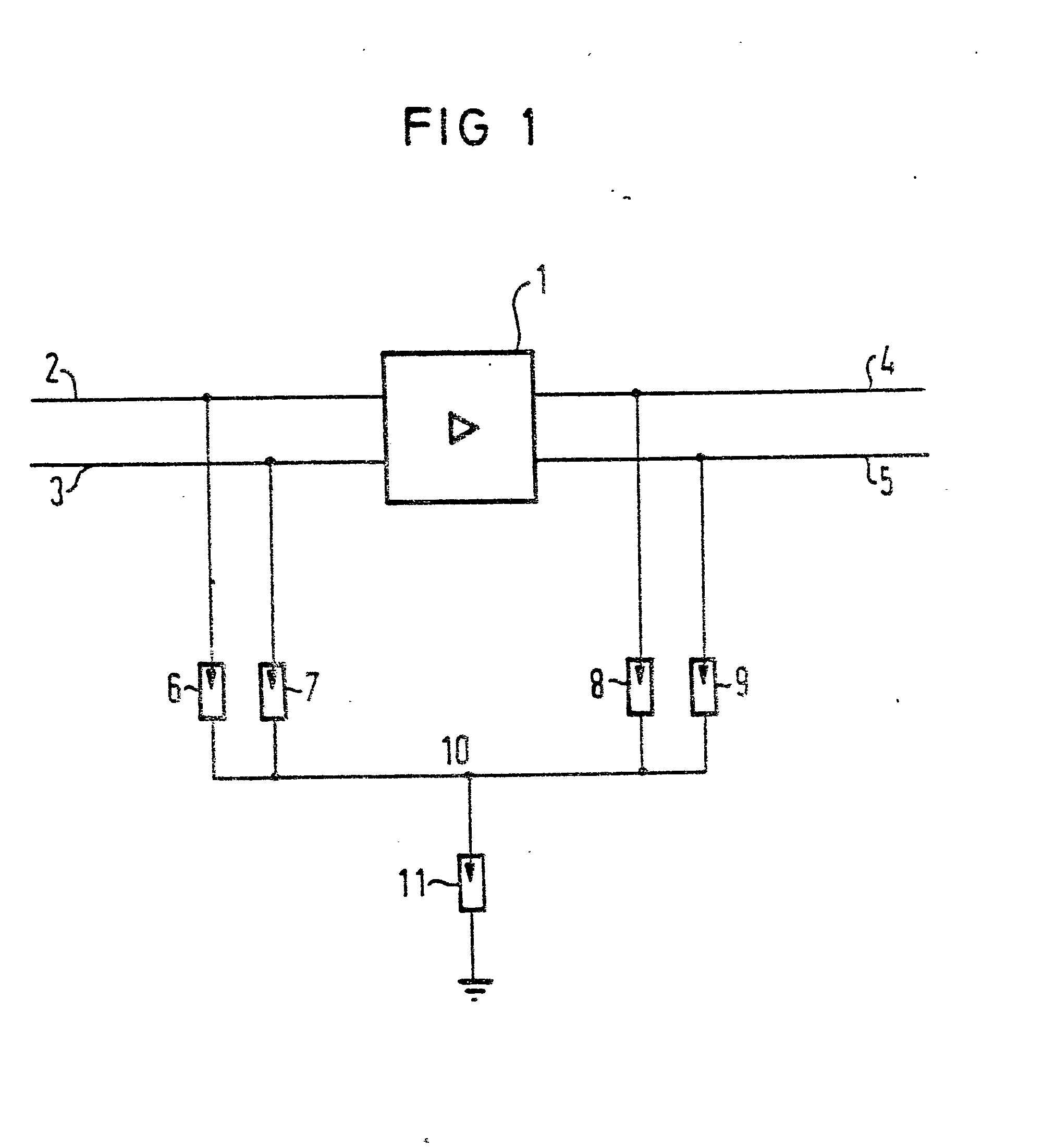 Patent EP0016850A1 - Surge voltage diverter to protect several ...