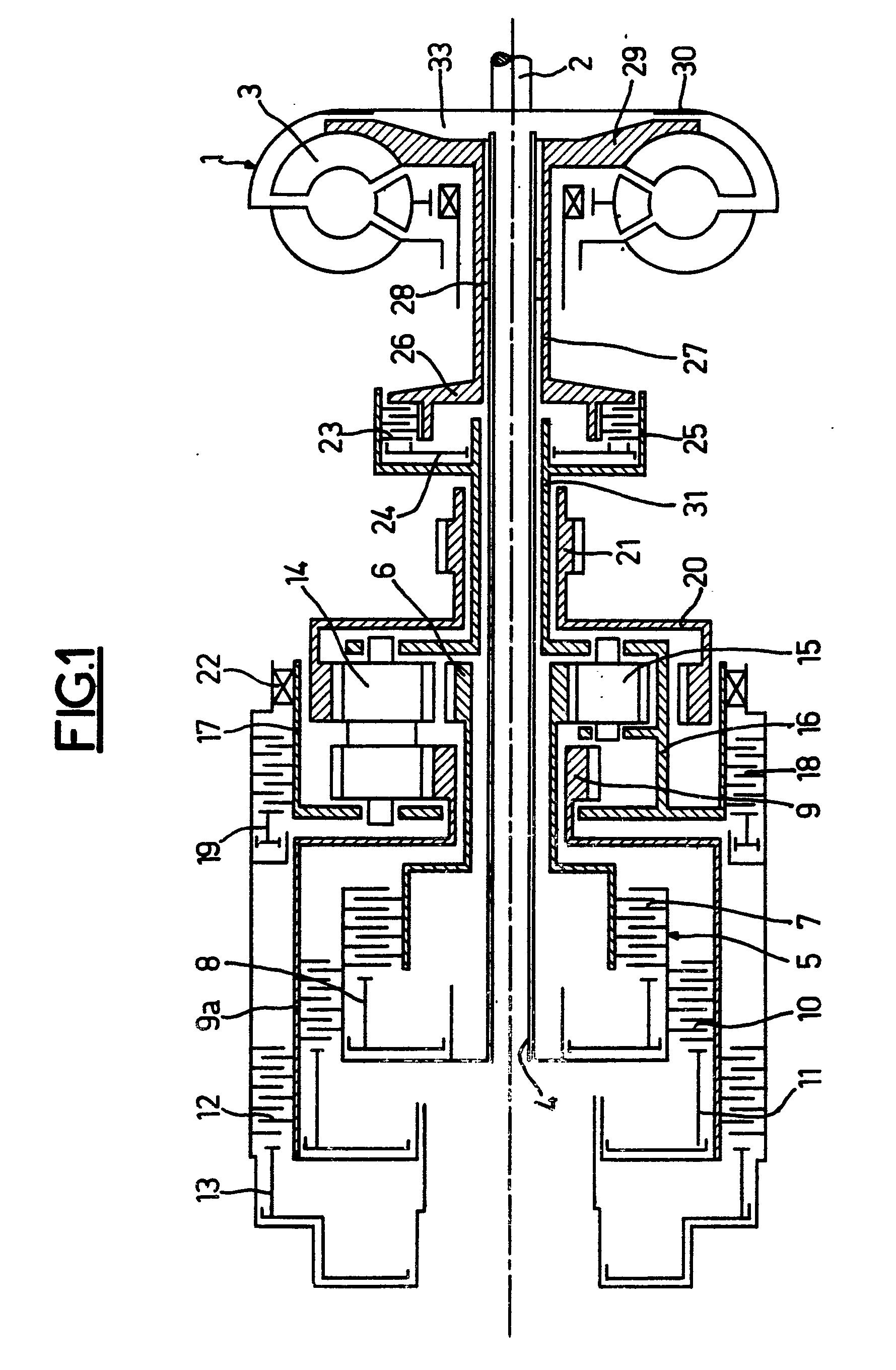 patent ep0017993b1 changement de vitesse train picycloidal et convertisseur de couple avec. Black Bedroom Furniture Sets. Home Design Ideas