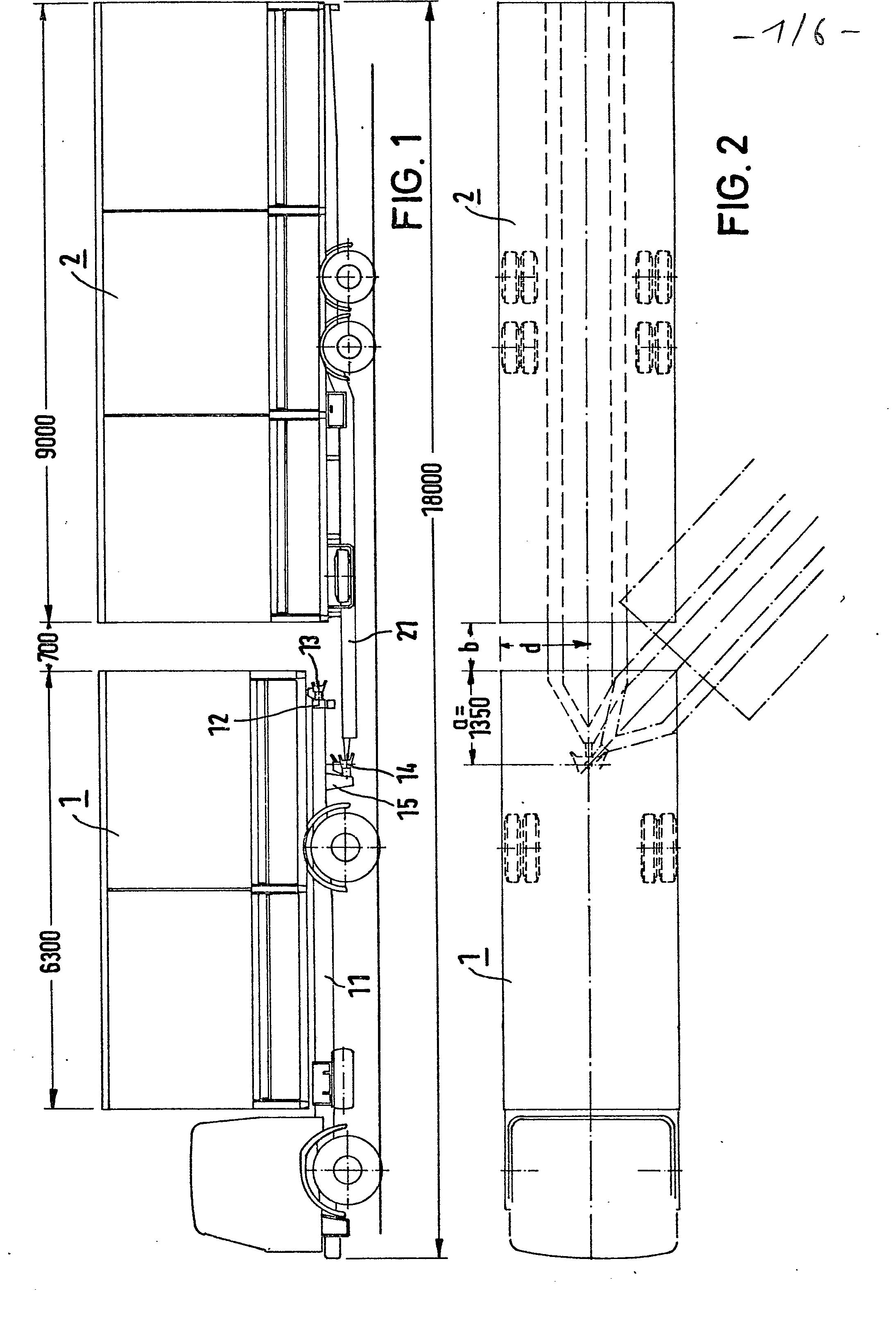 Abstand Zwischen Küchenzeile Und Hängeschrank ~ patent ep0033873a1 lastzug mit verkürztem abstand zwischen zugfahrzeug und anhänger google