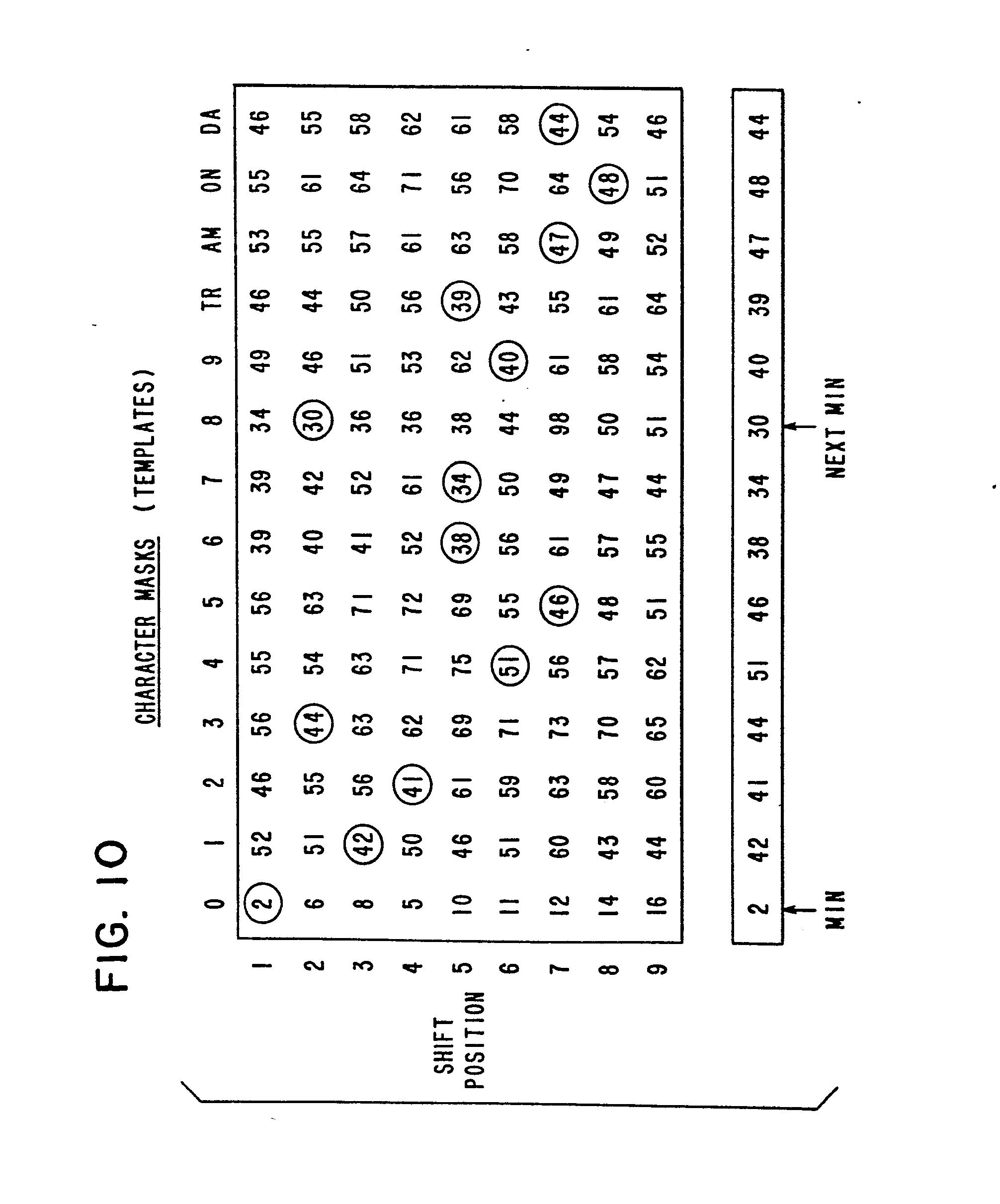 patent ep0063454a2 verfahren zum erkennen von maschinell kodierten zeichen google patentsuche. Black Bedroom Furniture Sets. Home Design Ideas