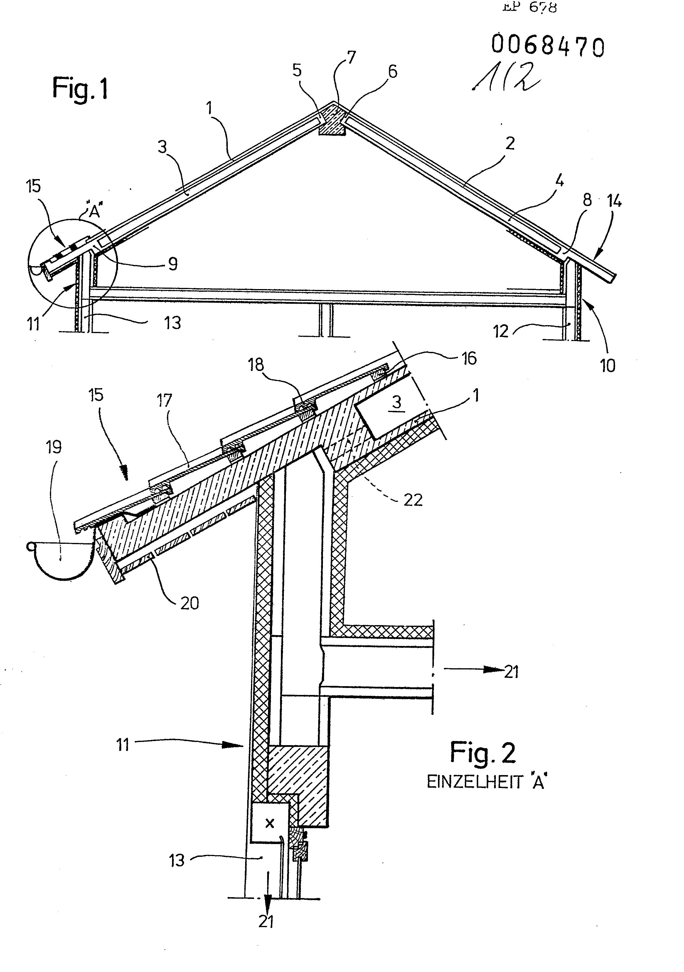 patent ep0068470a2 dach aus vorgefertigten betonplatten google patents. Black Bedroom Furniture Sets. Home Design Ideas