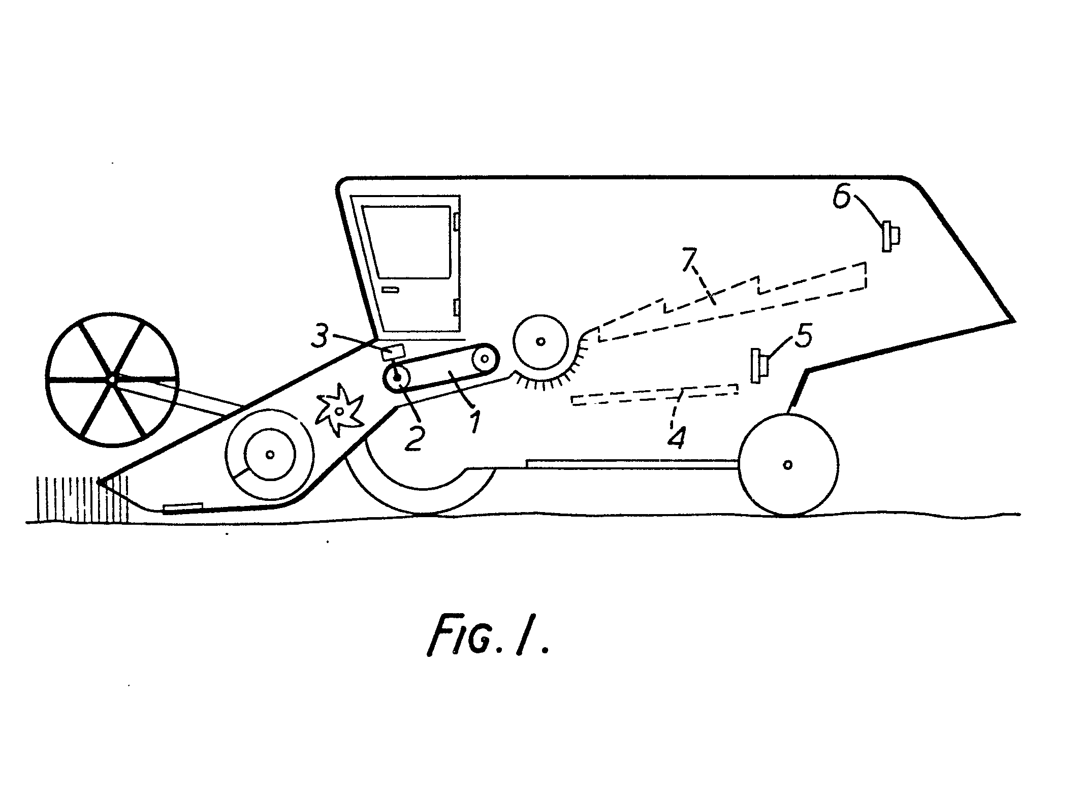 patent ep0077667a1 control apparatus for a combine harvester