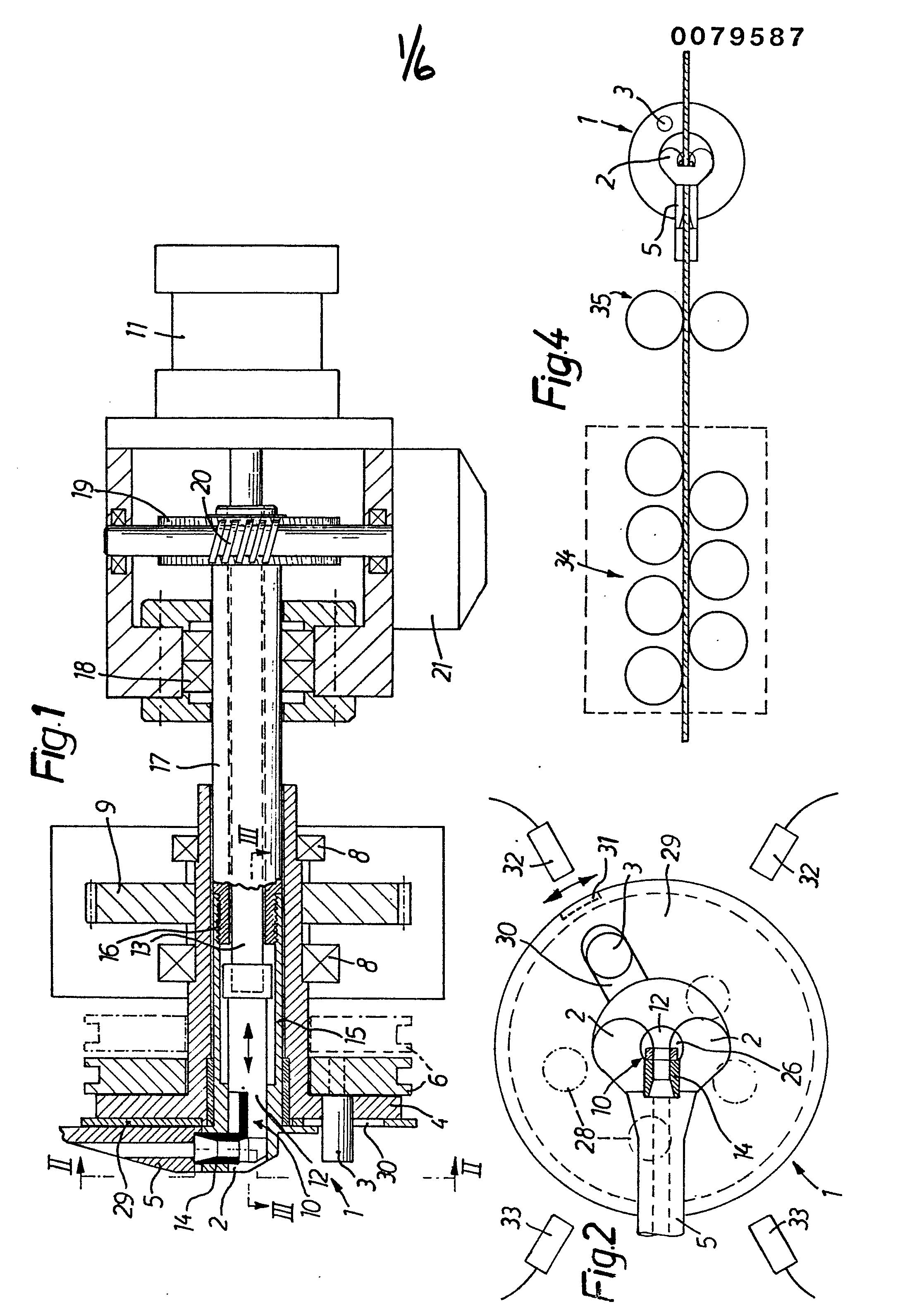Patent EP0079587A1 - Drahtbiegemaschine - Google Patents