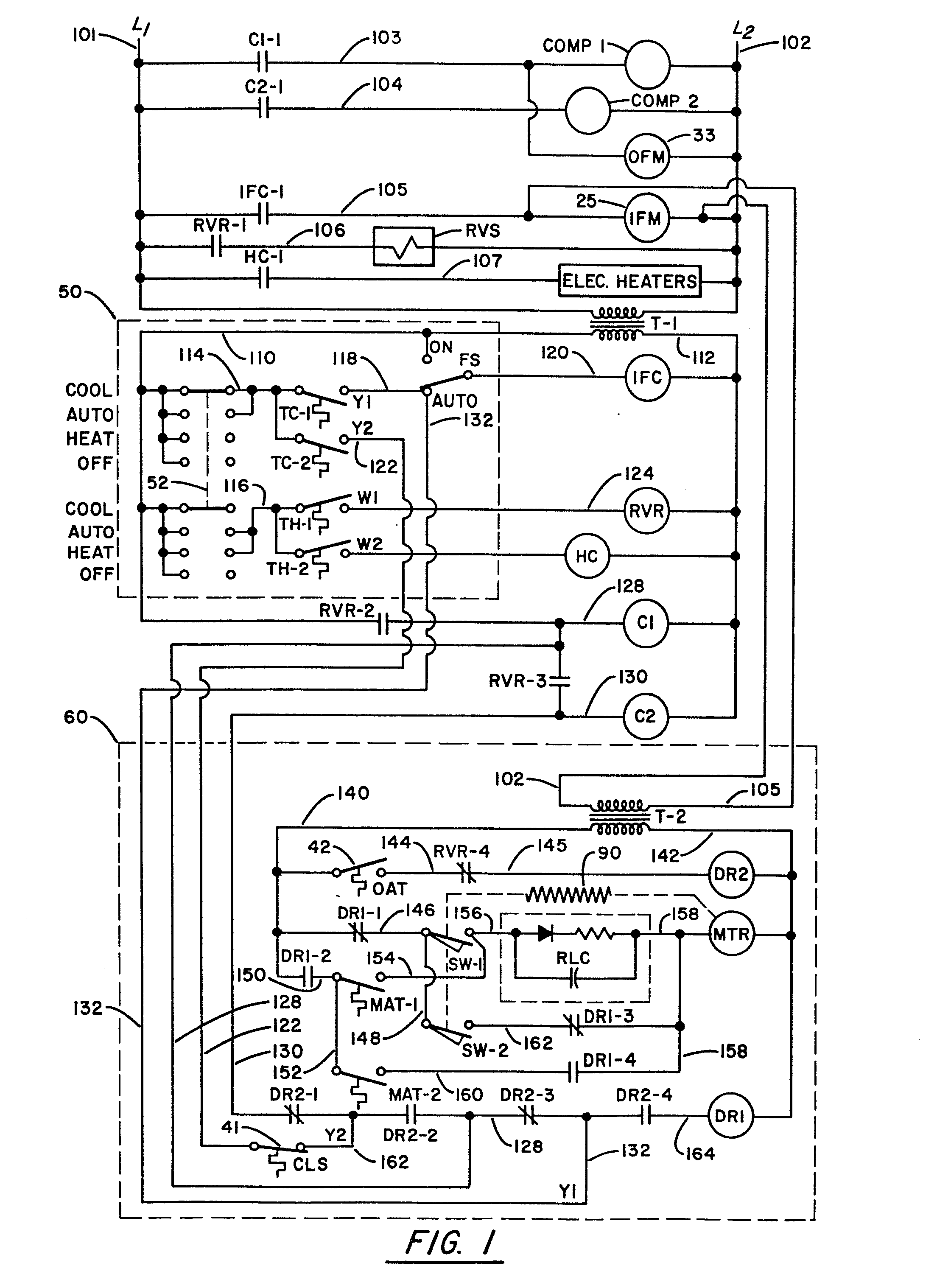 Trane Economizer Wiring Diagrams Simple Guide About Diagram Heat Pump Condenser Fan Patent Ep0080838a1 Air Conditioning Control