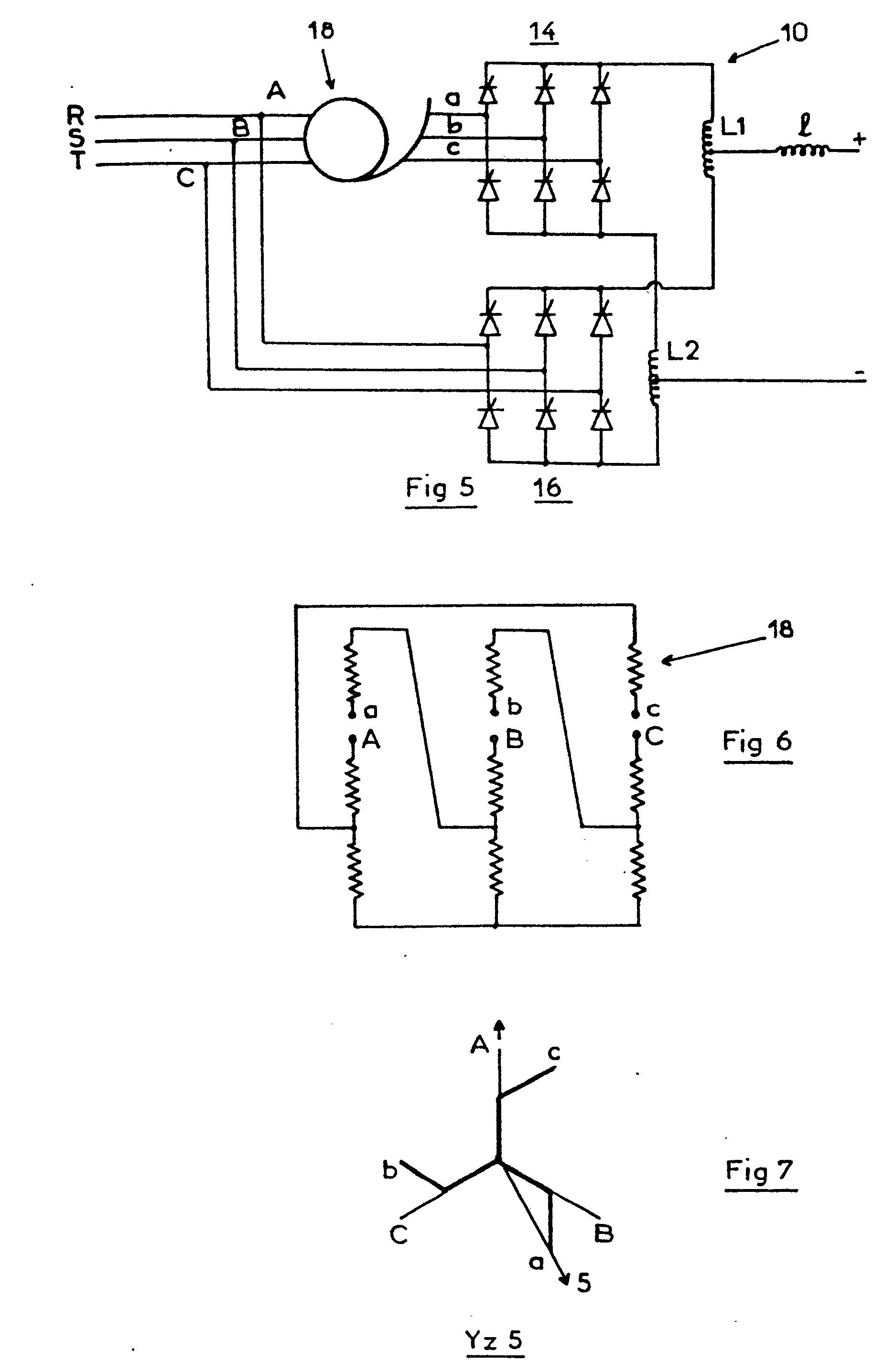 patent ep0080925b1 statischer gleichrichterumformer mit einer zwei graetzbr cken enthaltenden. Black Bedroom Furniture Sets. Home Design Ideas