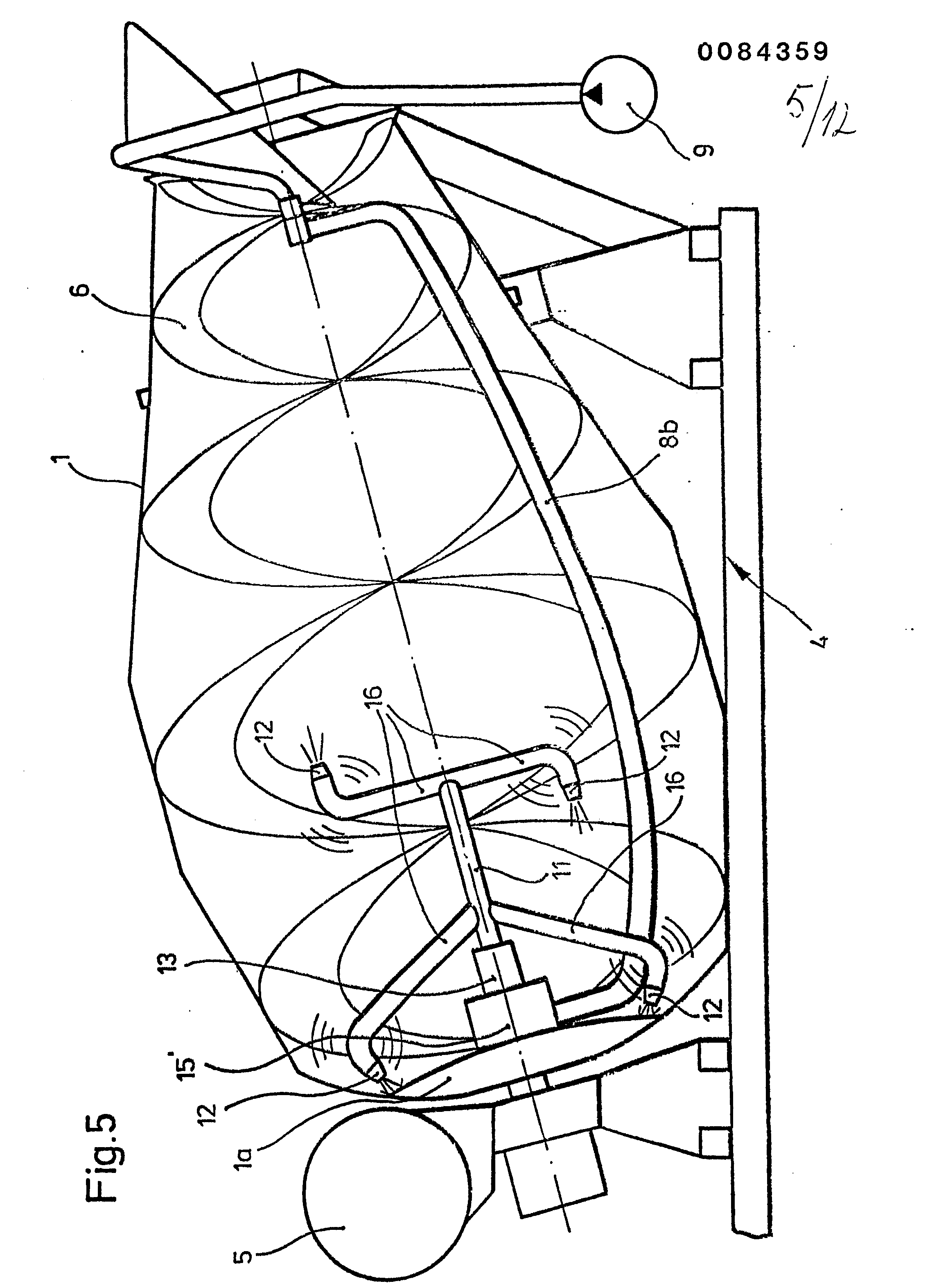 patent ep0084359a2 betonmischer mit vibrator google. Black Bedroom Furniture Sets. Home Design Ideas