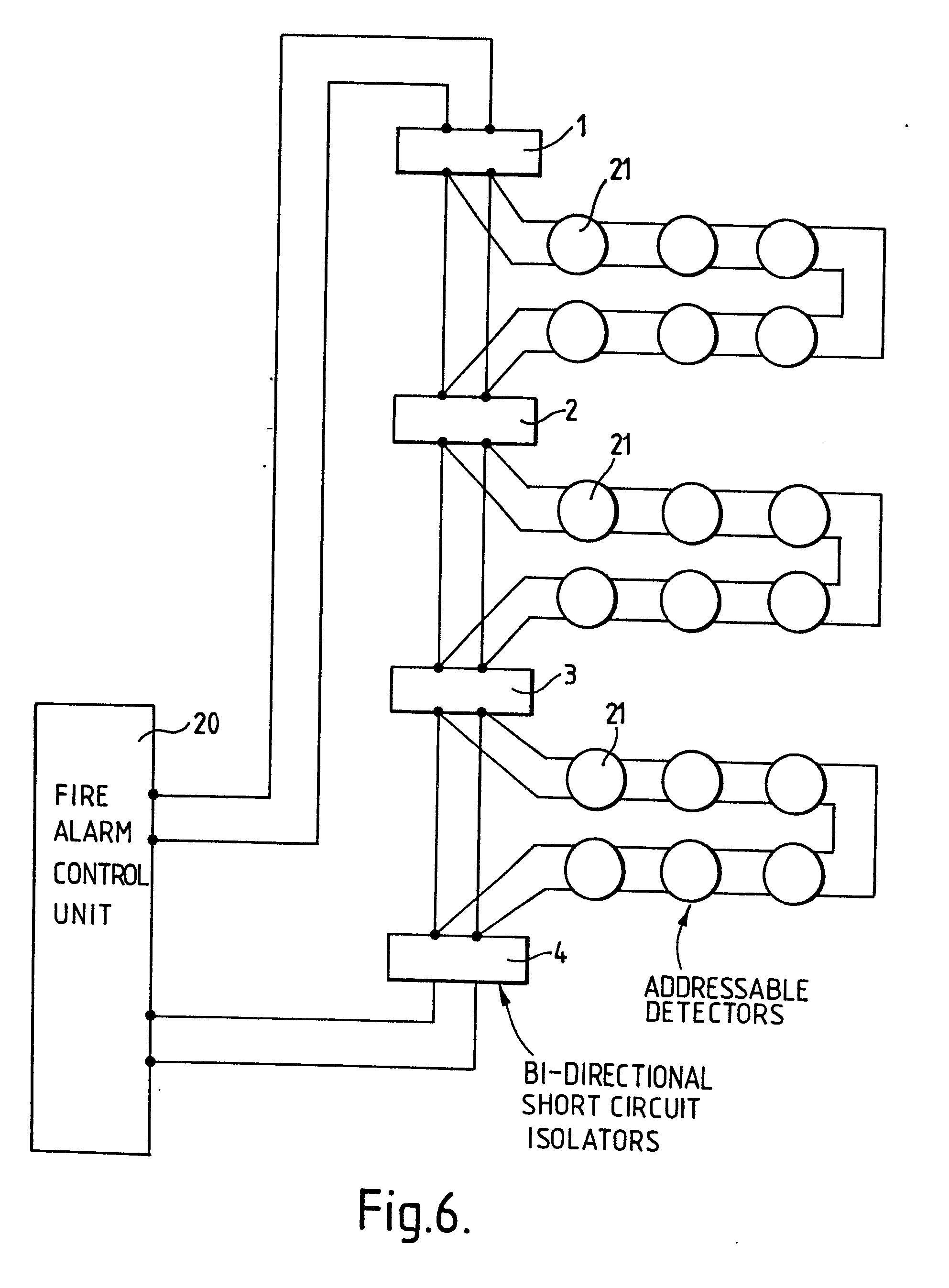 imgf0005 addressable fire alarm circuit diagram circuit and schematics fire alarm wiring schematic at creativeand.co