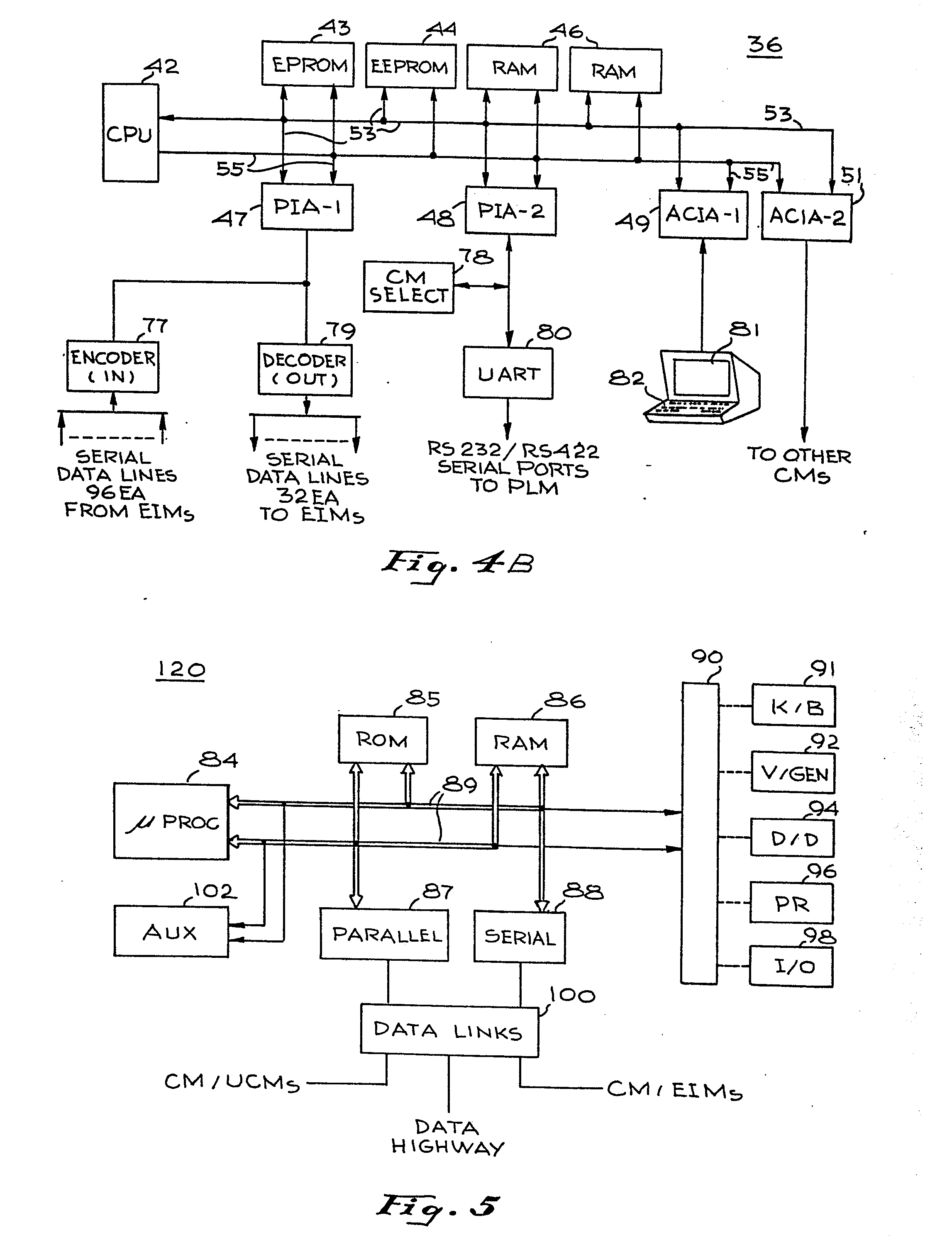 patent ep0109734a2 system for monitoring and control of patent drawing