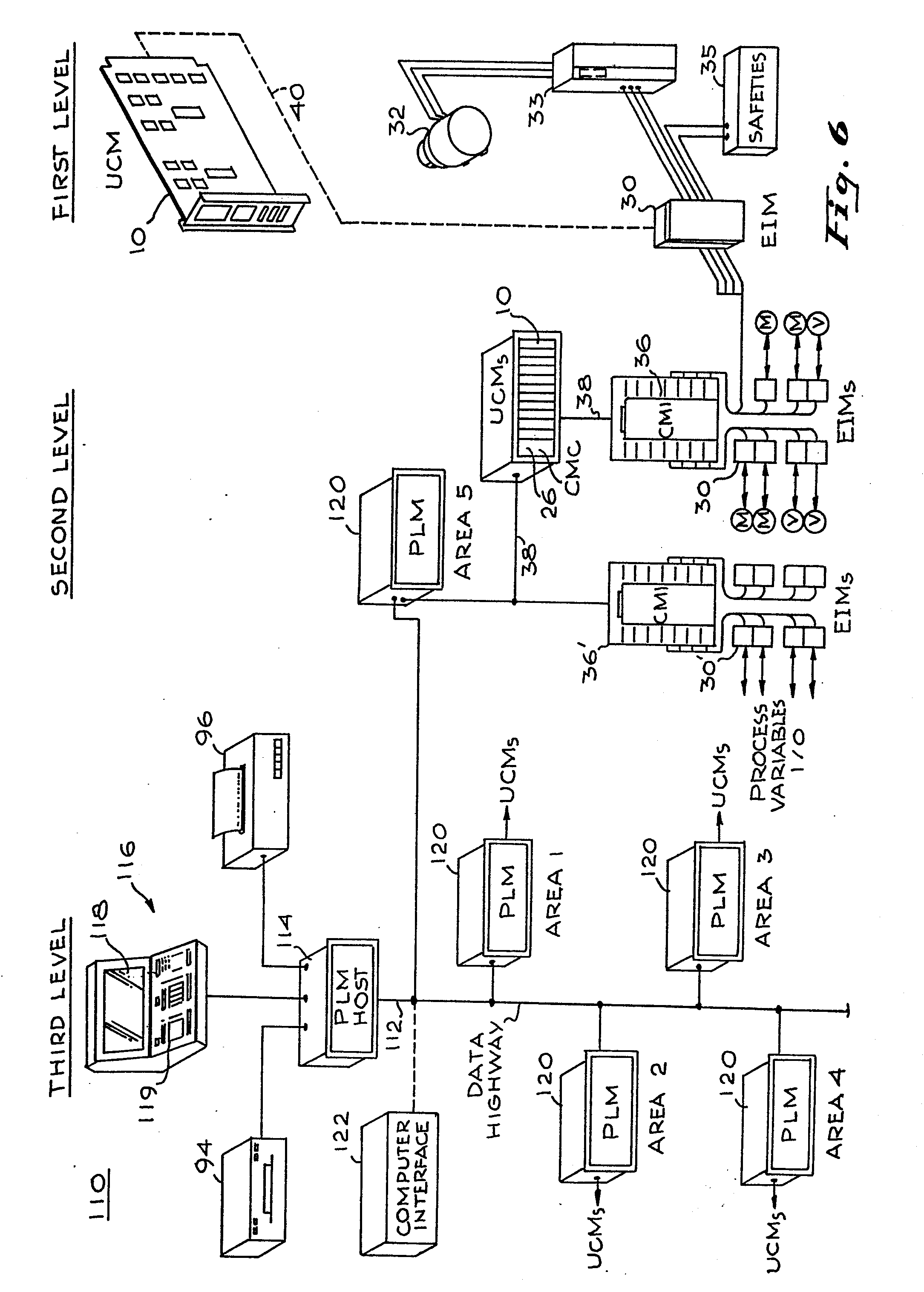 patent ep0109734a2 - system for monitoring and control of electrical drive devices