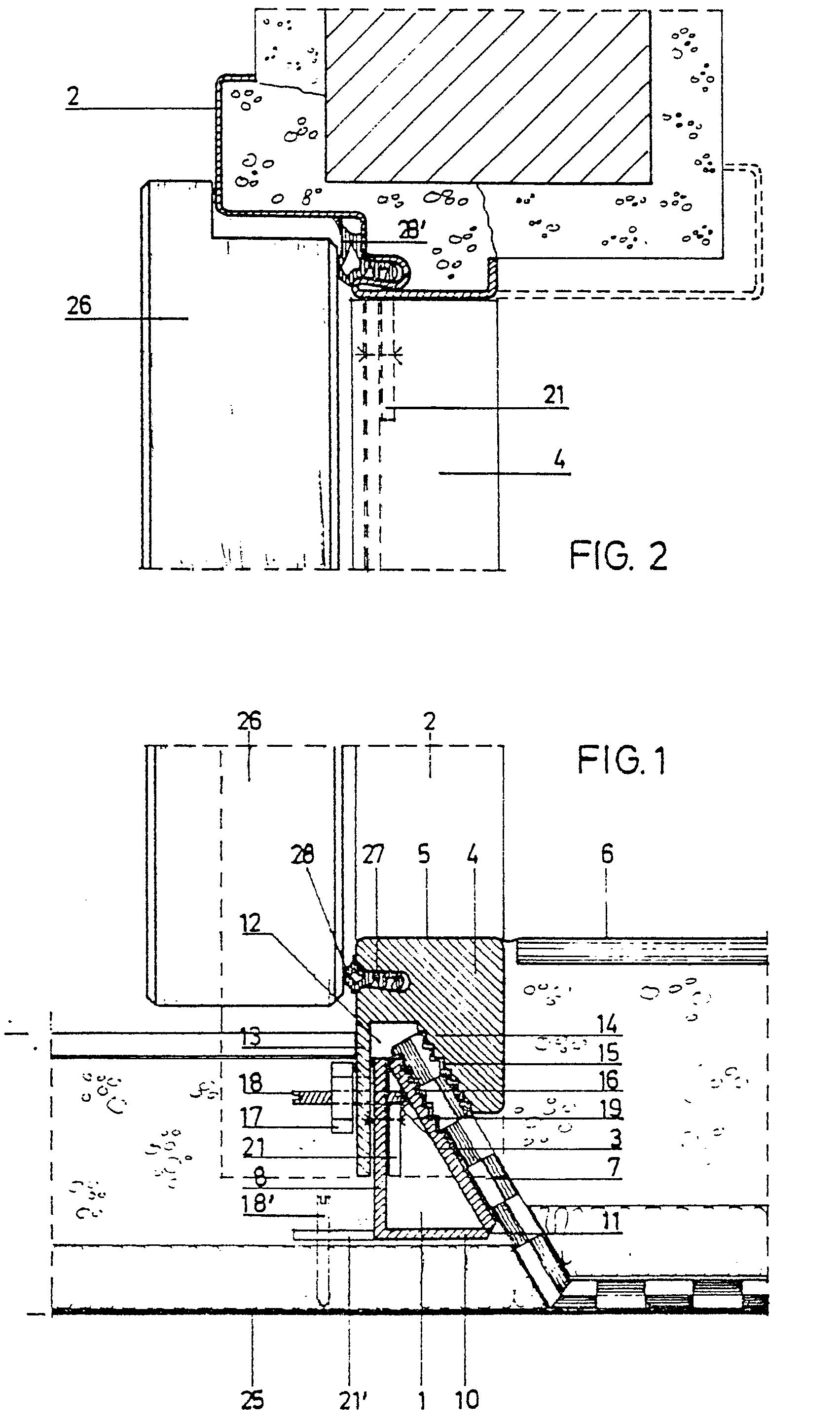 Türzarge metall  Patent EP0120940B1 - Trennvorrichtung für türzargen an verschieden ...