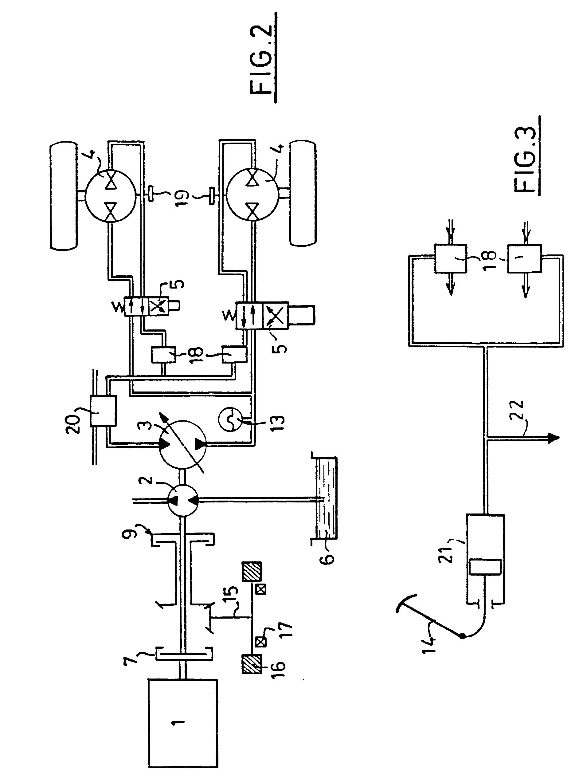 patent ep0131505b1 transmission hydrostatique r cup ration d 39 nergie freinage int gr. Black Bedroom Furniture Sets. Home Design Ideas