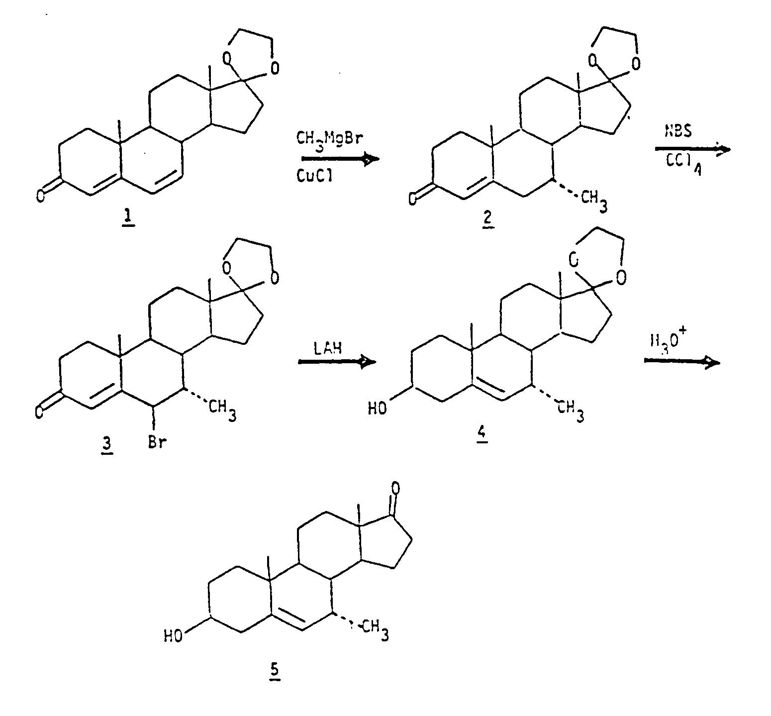 6-methylene steroids