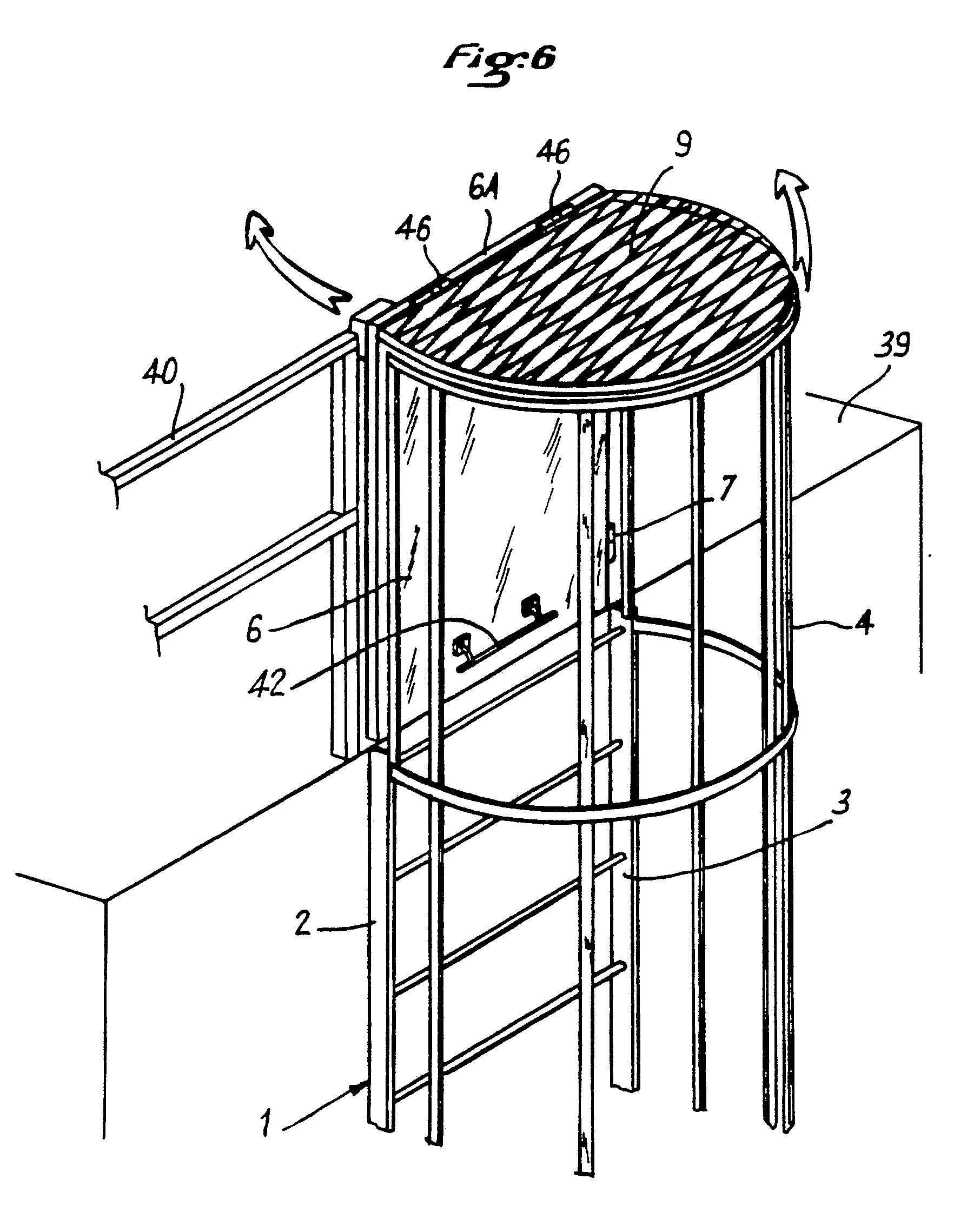 patent ep0151076b1 dispositif pour condamner l 39 acc s aux chelles crinoline google patents. Black Bedroom Furniture Sets. Home Design Ideas