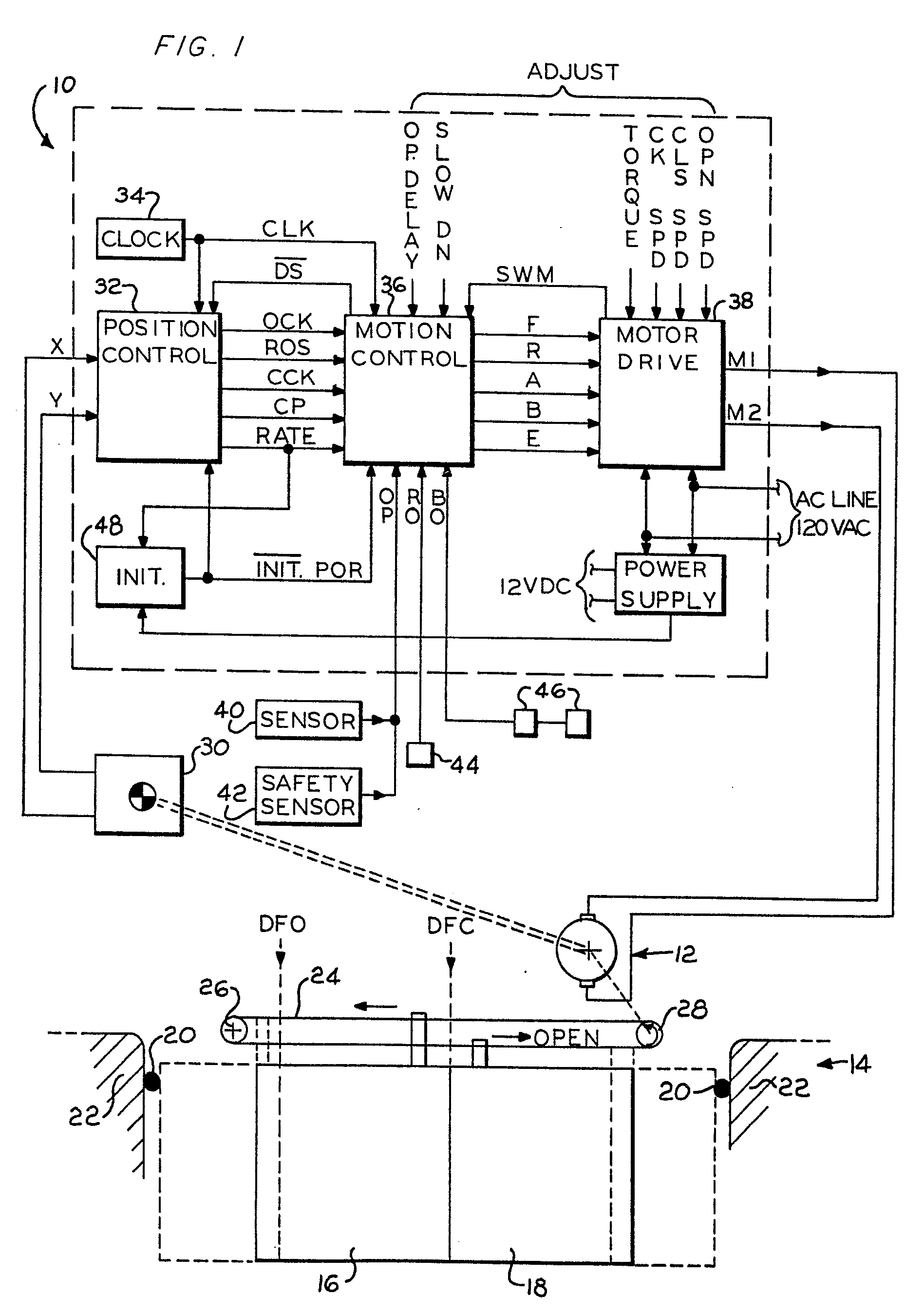 patent ep0162799a1 - automatic door control system