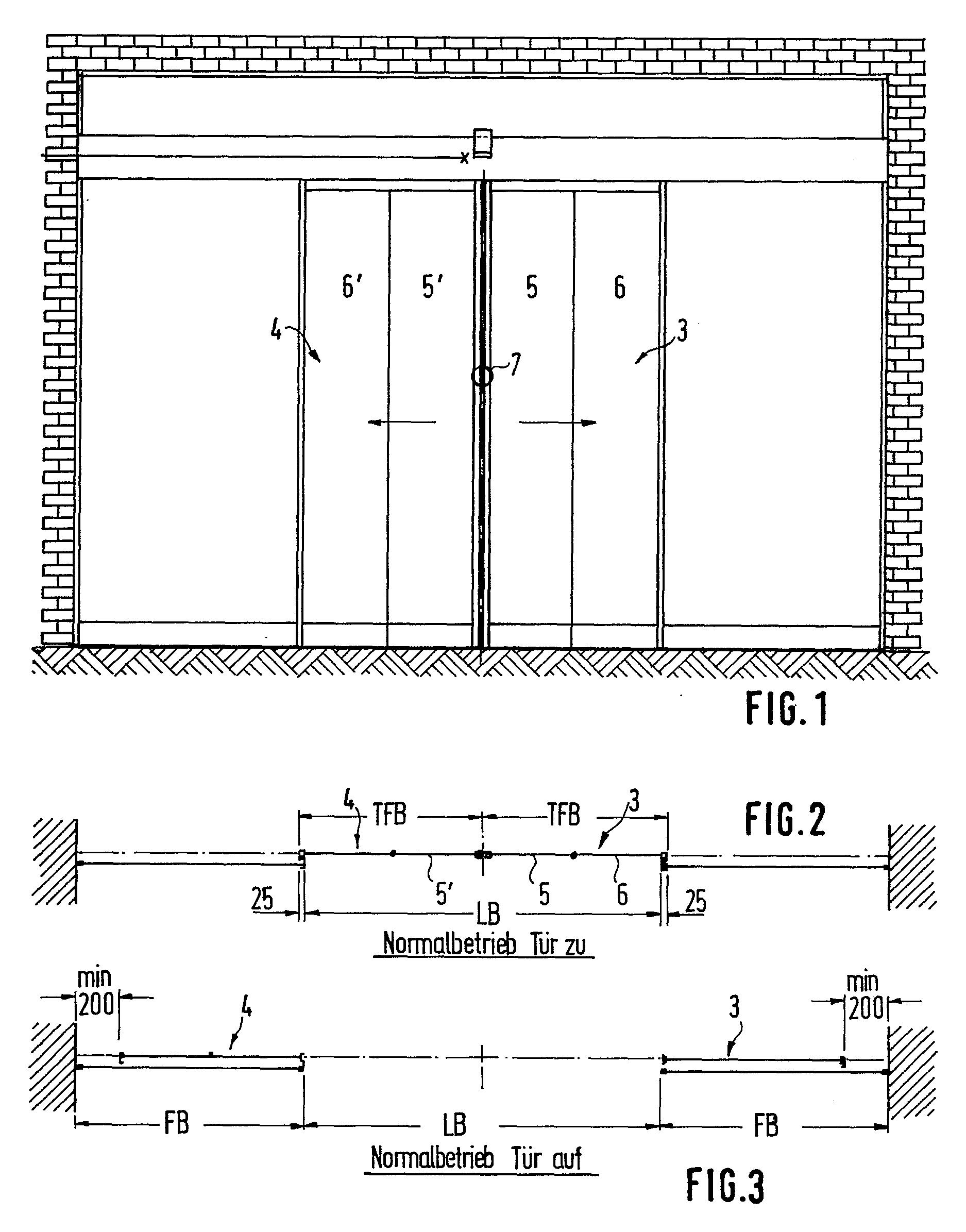 patent ep0163942a1 automatische zweifl gelige schiebet r. Black Bedroom Furniture Sets. Home Design Ideas