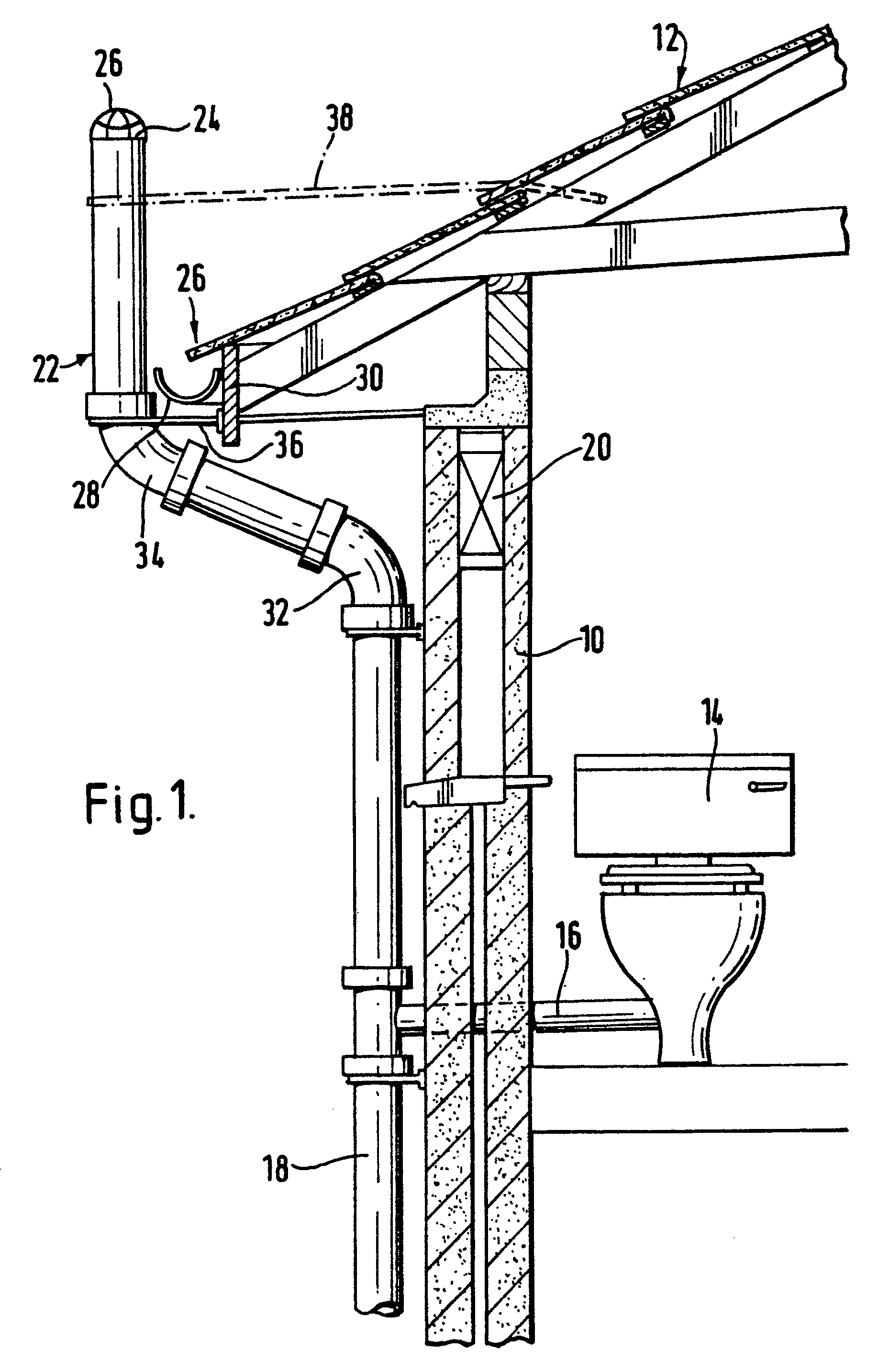 Patent ep0165018b1 a weather proof vent for use in for Soil vent pipe design