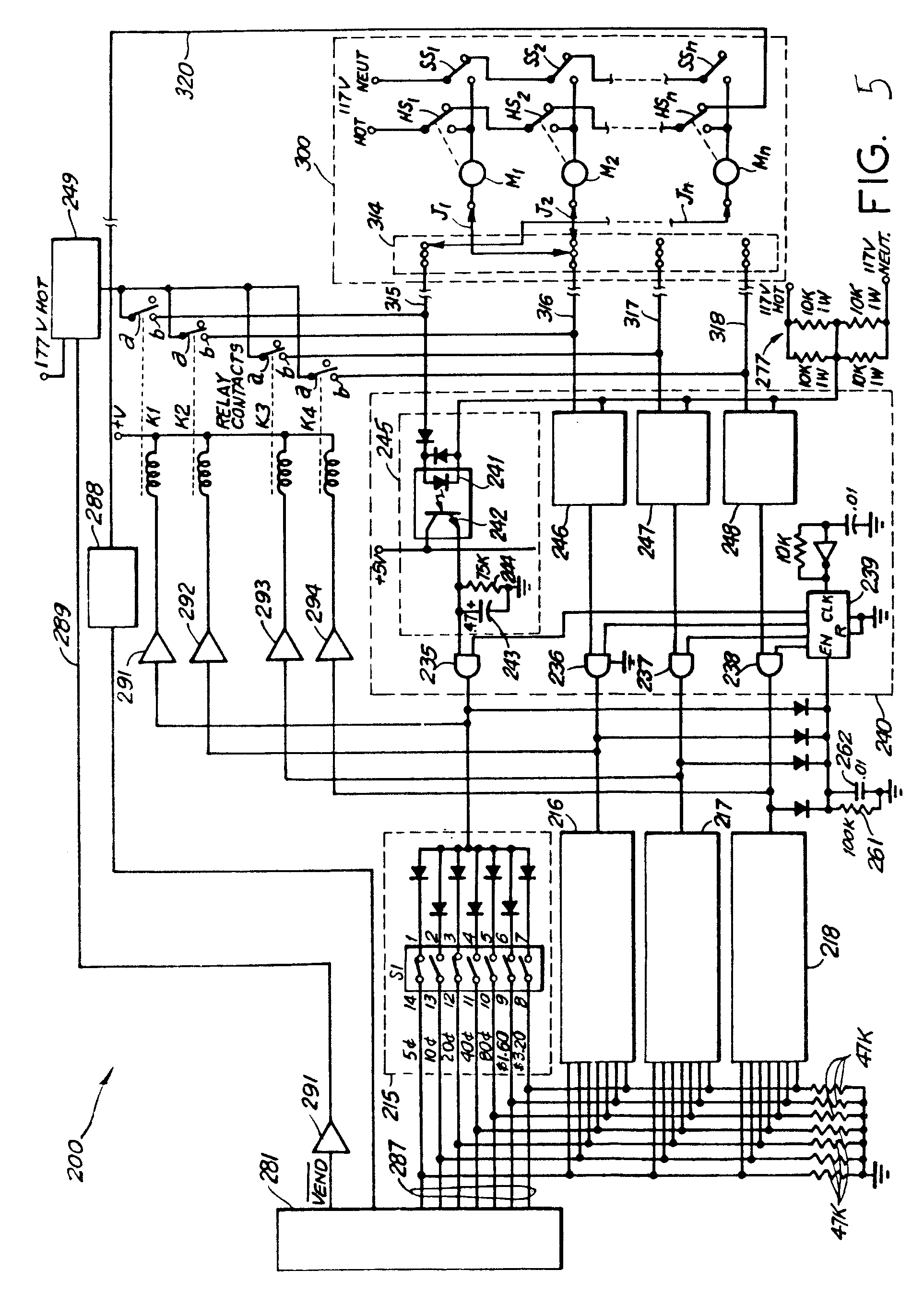 imgf0003 patent ep0178811b1 vending machine power switching apparatus vending machine wiring diagram at reclaimingppi.co